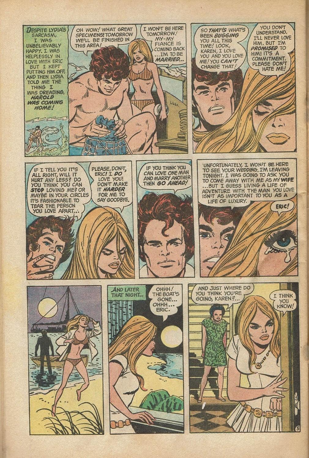 Read online Secret Hearts comic -  Issue #152 - 32