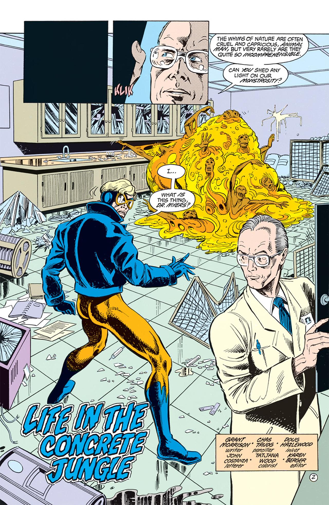 Read online Animal Man (1988) comic -  Issue #2 - 4