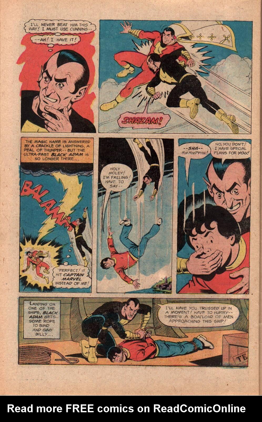 Read online Shazam! (1973) comic -  Issue #28 - 26