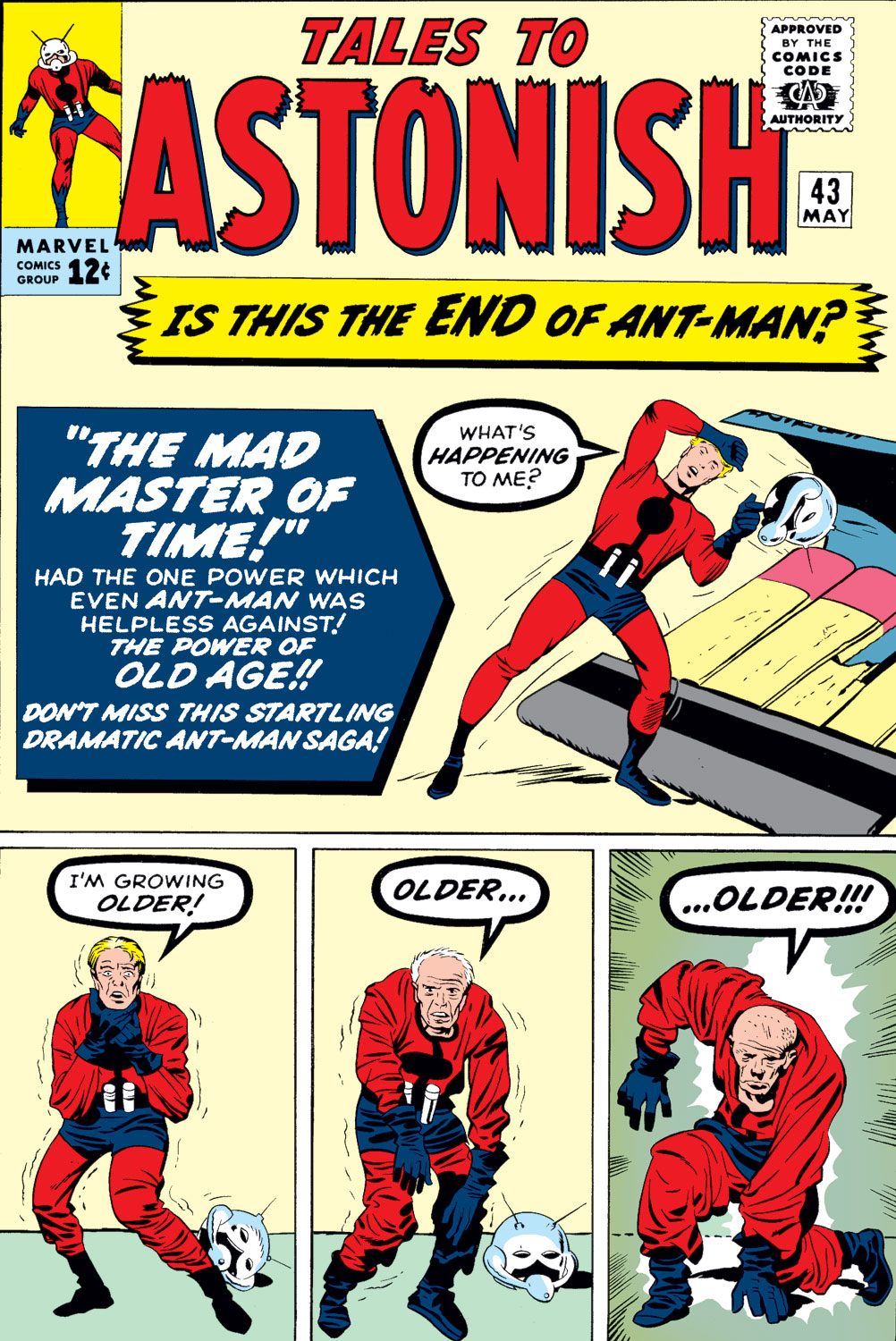 Tales to Astonish (1959) issue 43 - Page 1