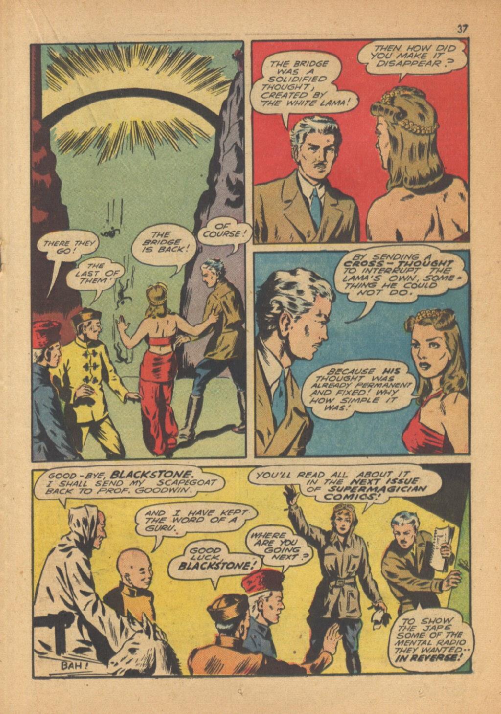 Read online Super-Magician Comics comic -  Issue #13 - 37