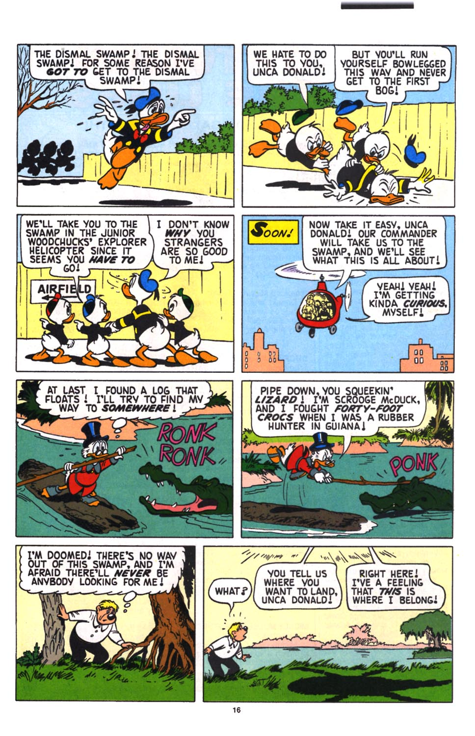 Read online Uncle Scrooge (1953) comic -  Issue #258 - 17