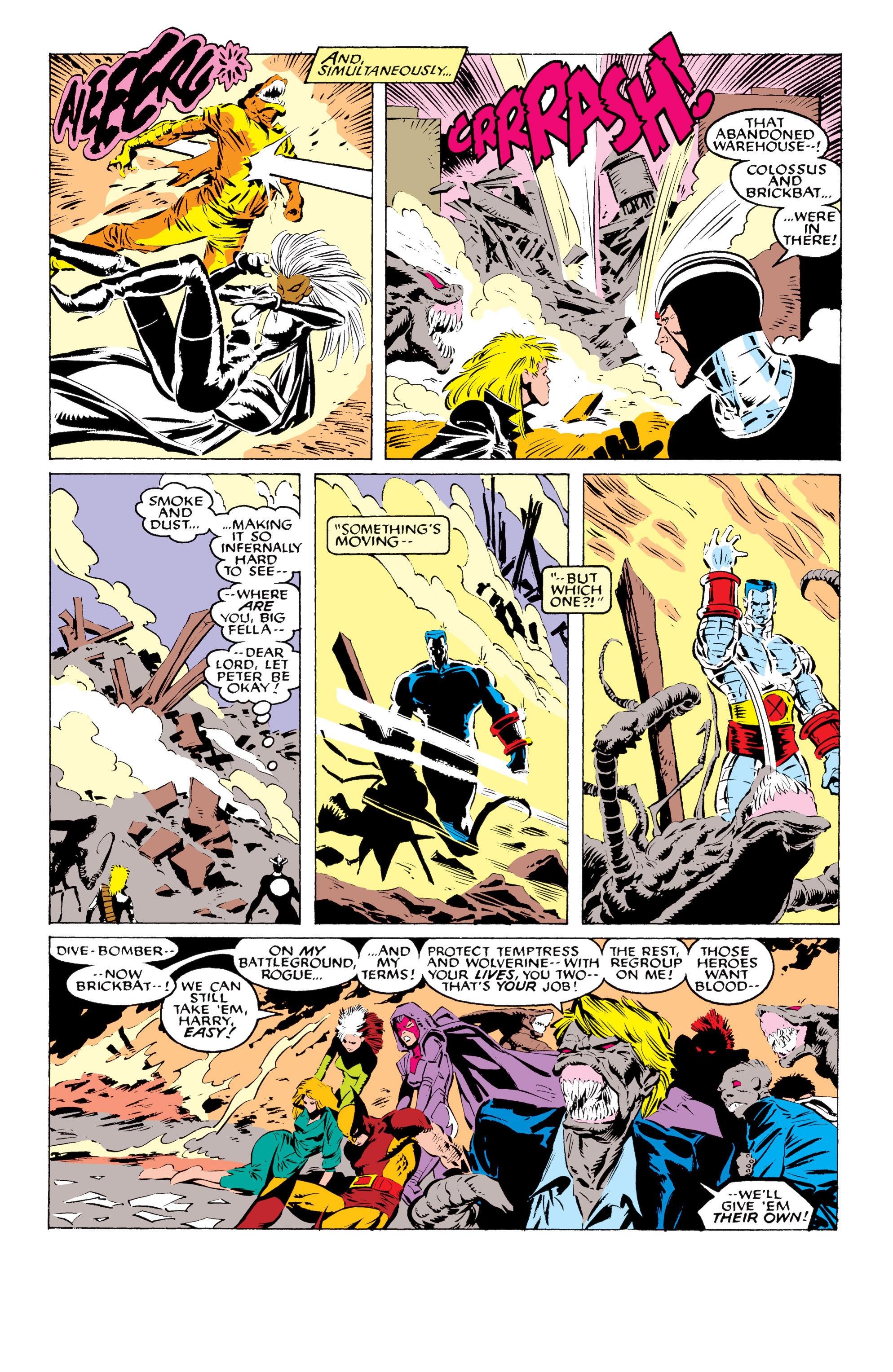 Read online Uncanny X-Men (1963) comic -  Issue #233 - 21
