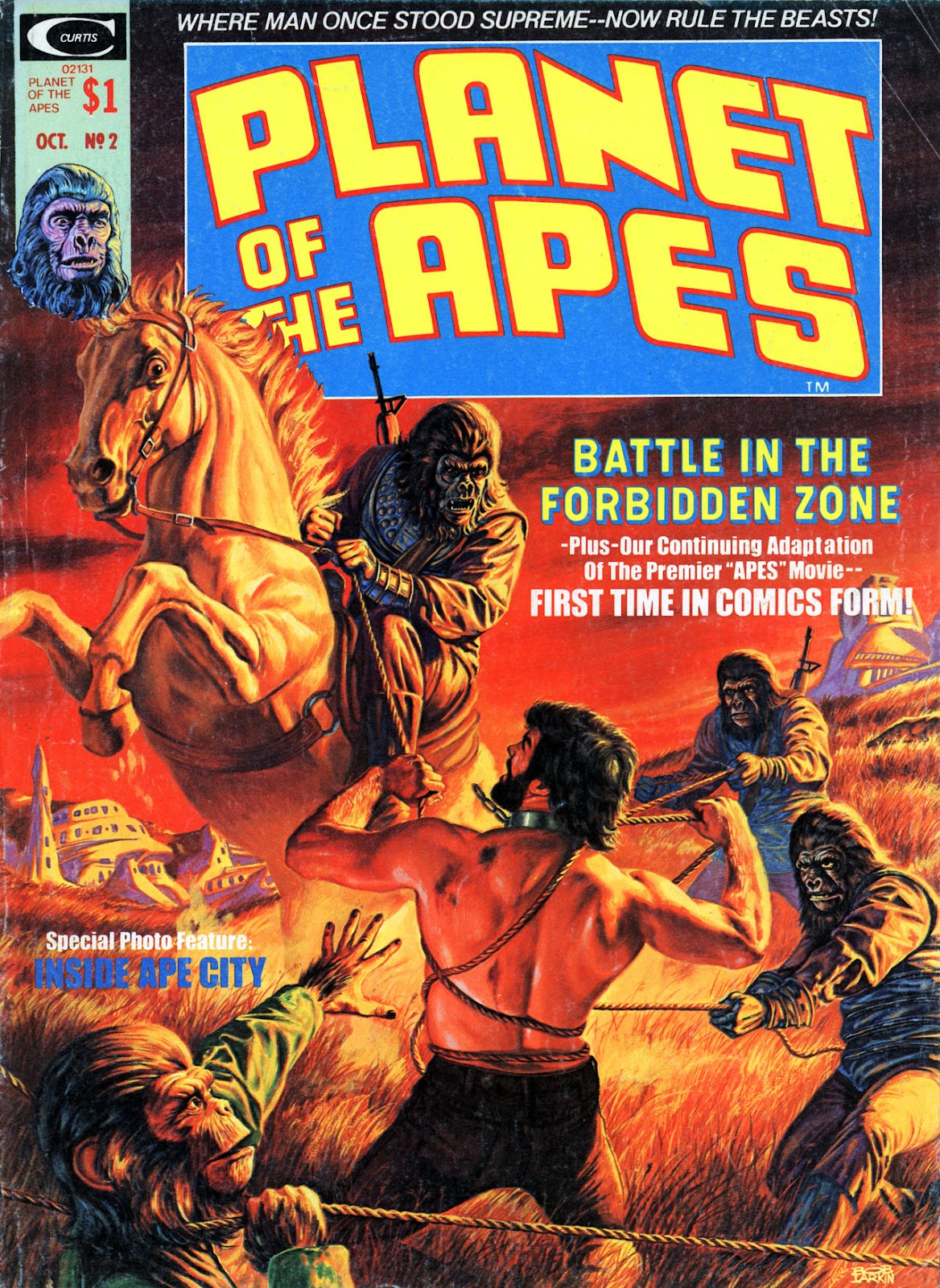 Planet of the Apes (1974) 2 Page 1