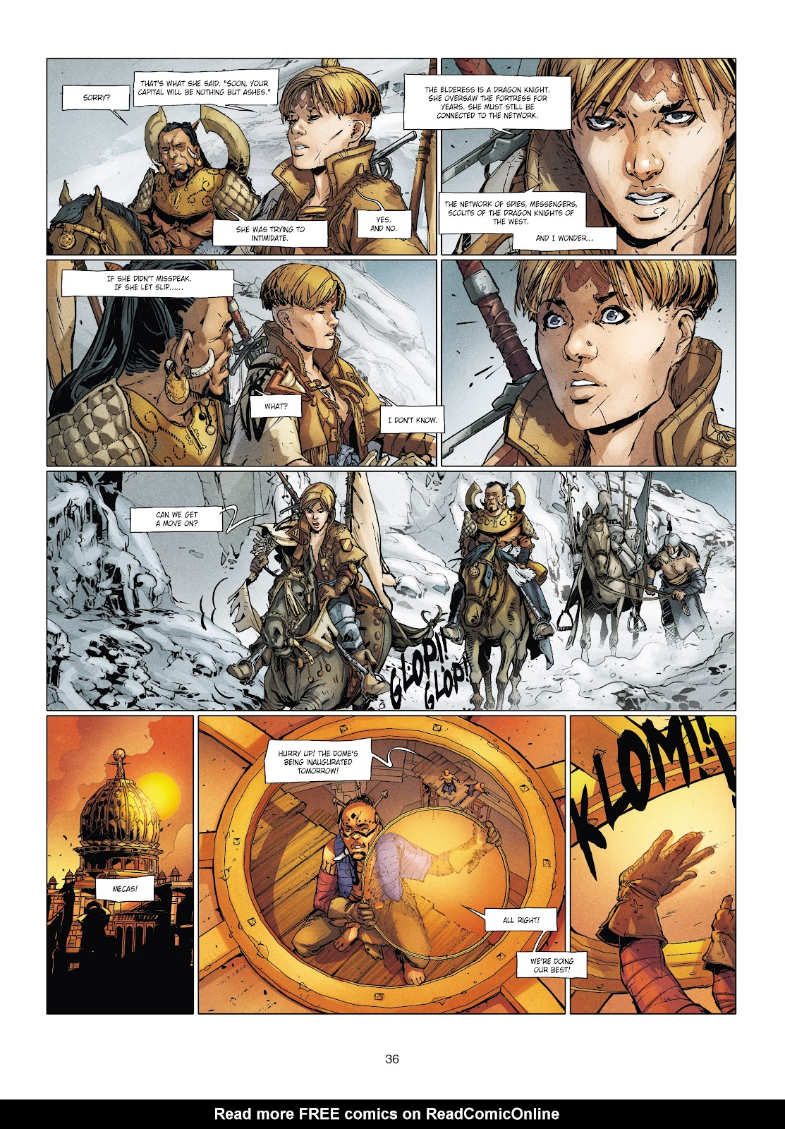 Read online Chronicles of the Dragon Knights comic -  Issue #20 - 36