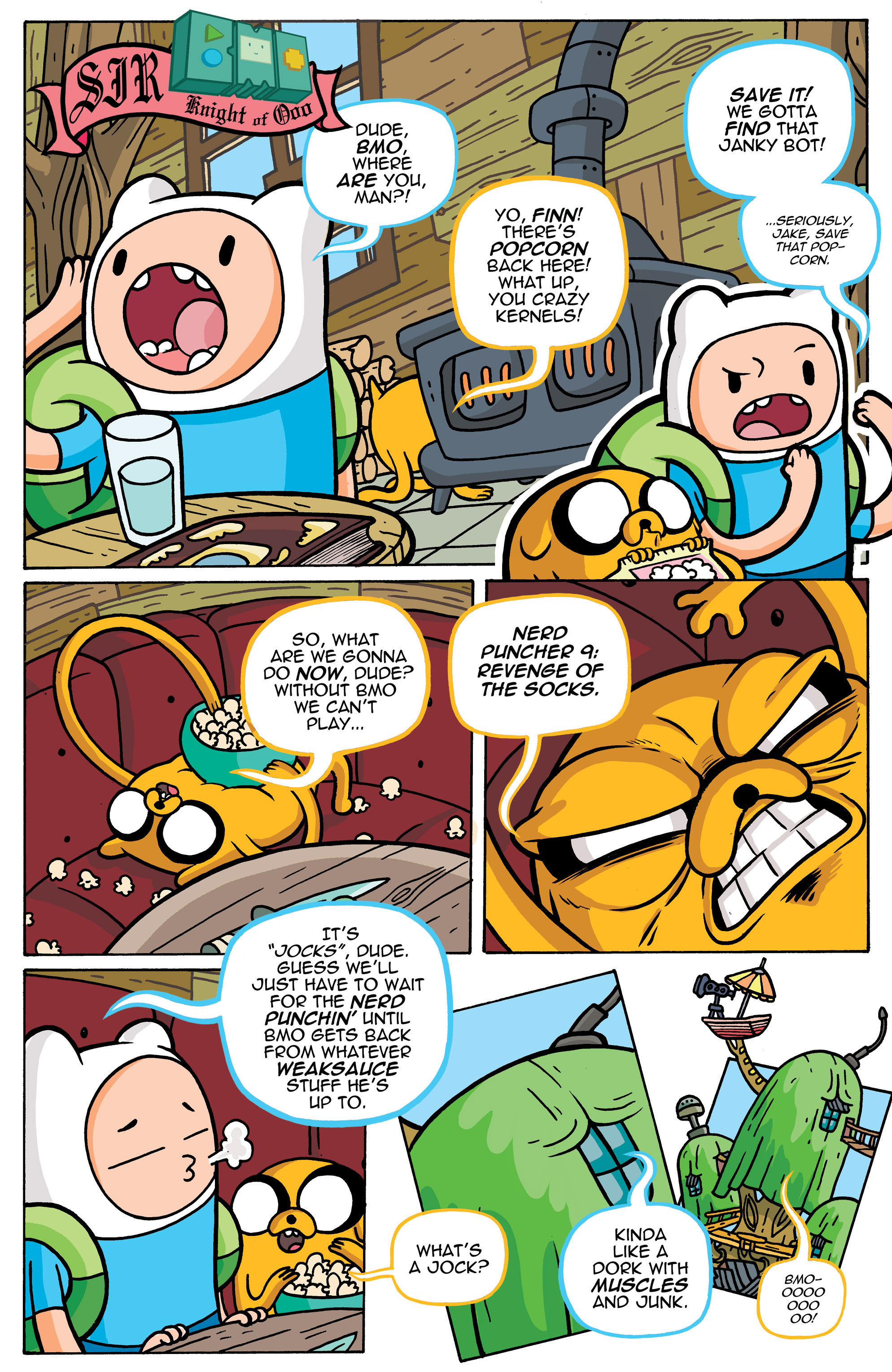 Read online Adventure Time comic -  Issue #42 - 19