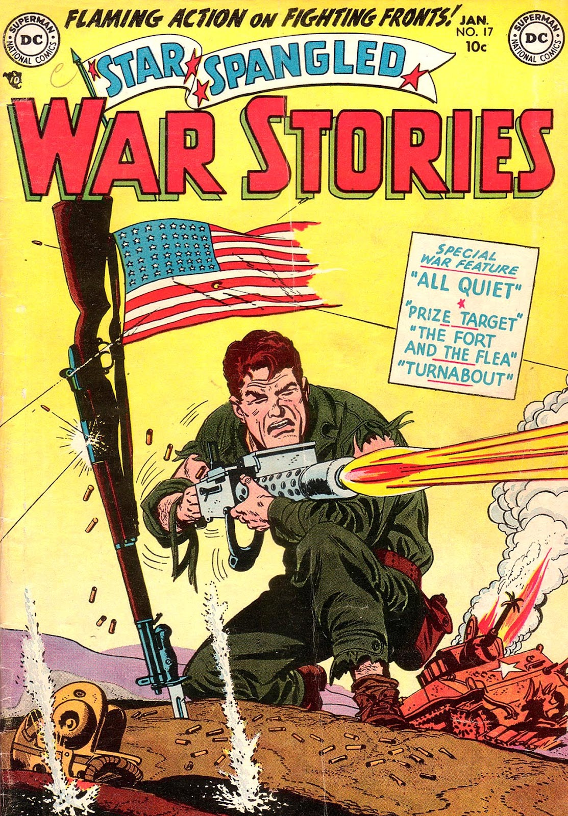 Star Spangled War Stories (1952) issue 17 - Page 1