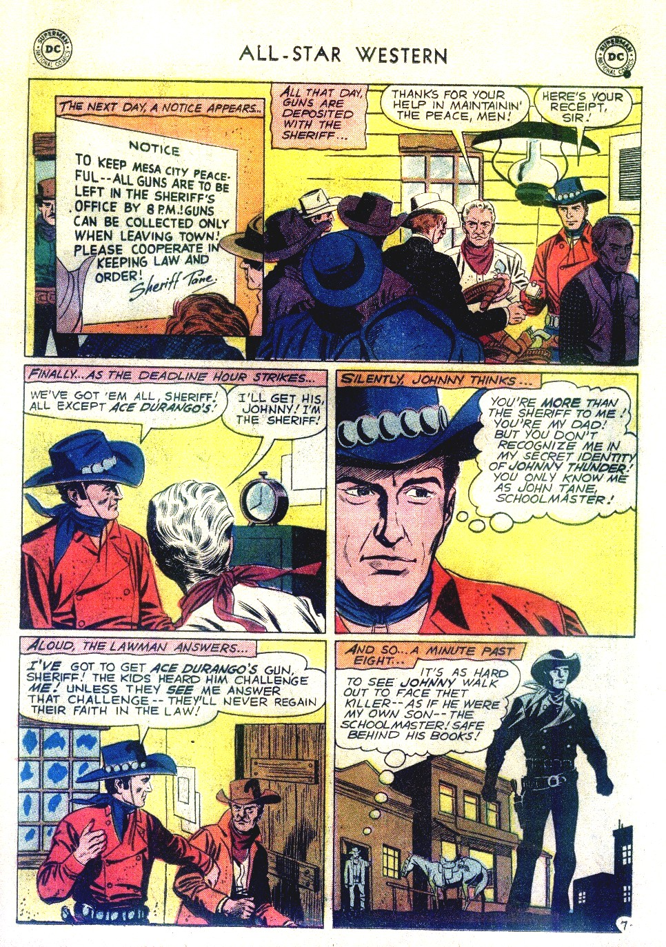 Read online All-Star Western (1951) comic -  Issue #111 - 9