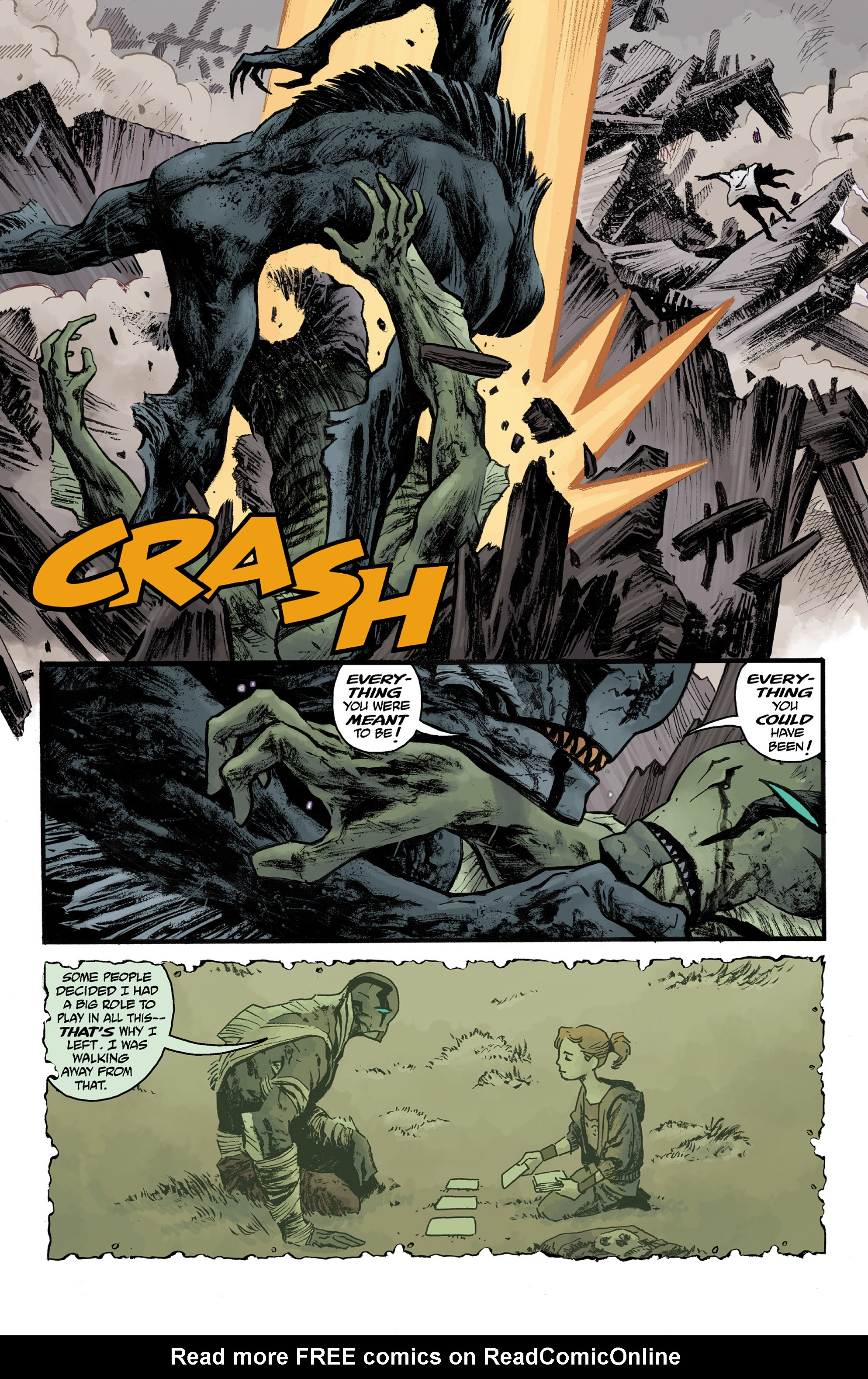 Read online Abe Sapien comic -  Issue #36 - 11