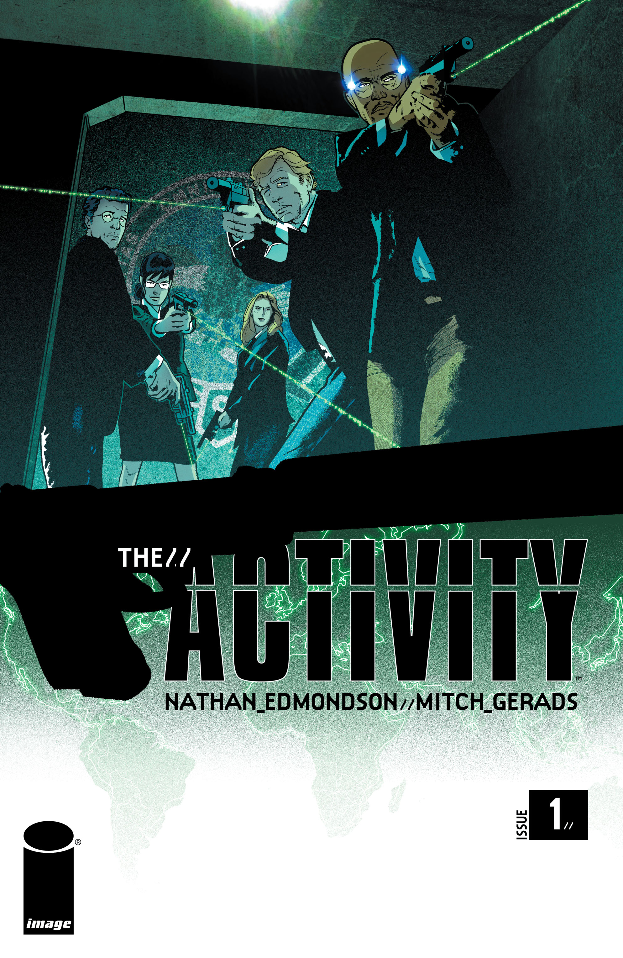 Read online The Activity comic -  Issue #1 - 1