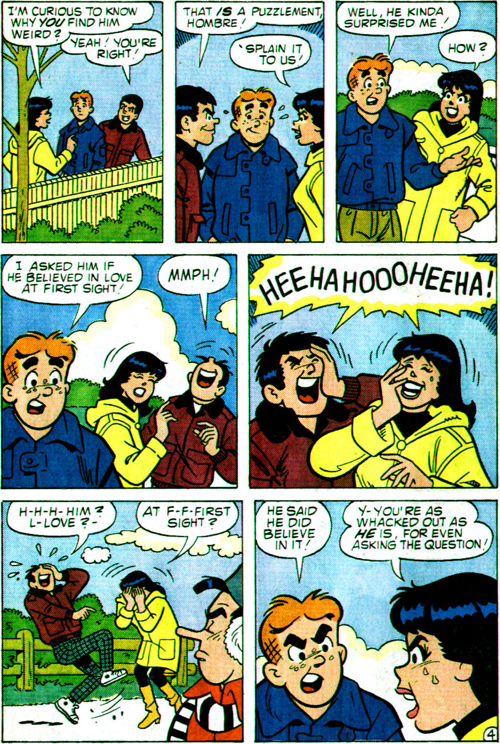 Read online Archie (1960) comic -  Issue #355 - 16