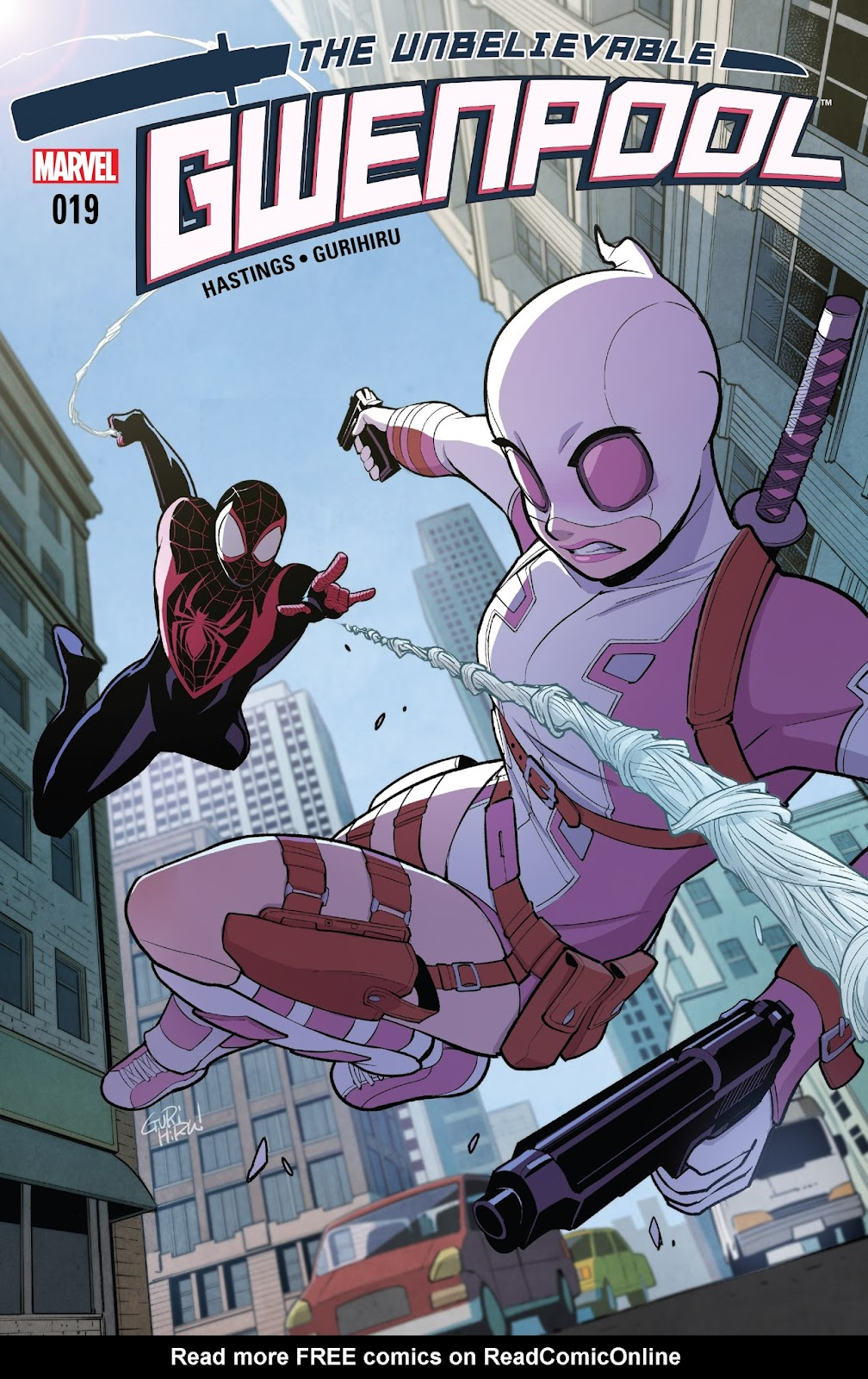 The Unbelievable Gwenpool 19 Page 1