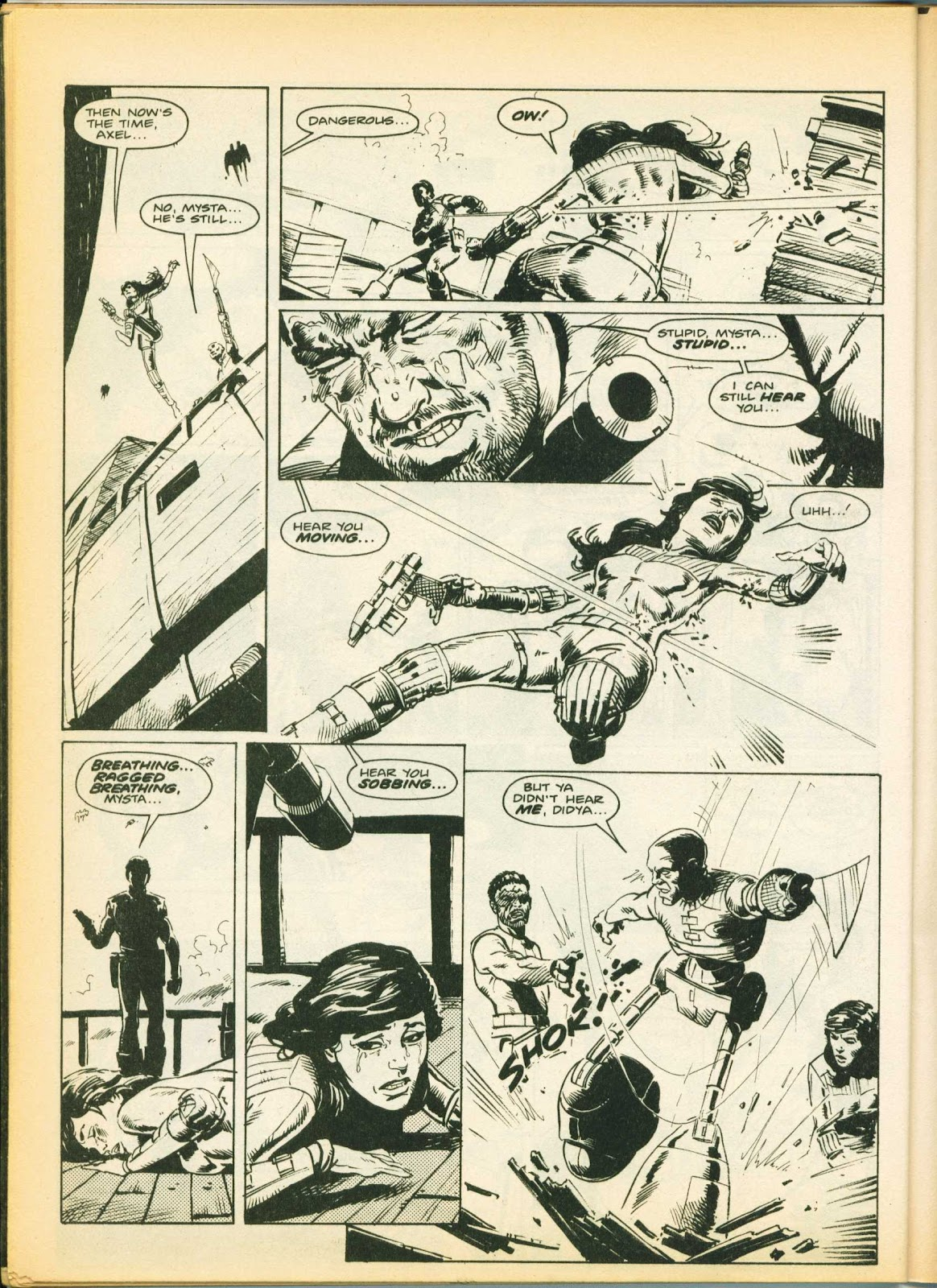 Warrior Issue #10 #11 - English 45