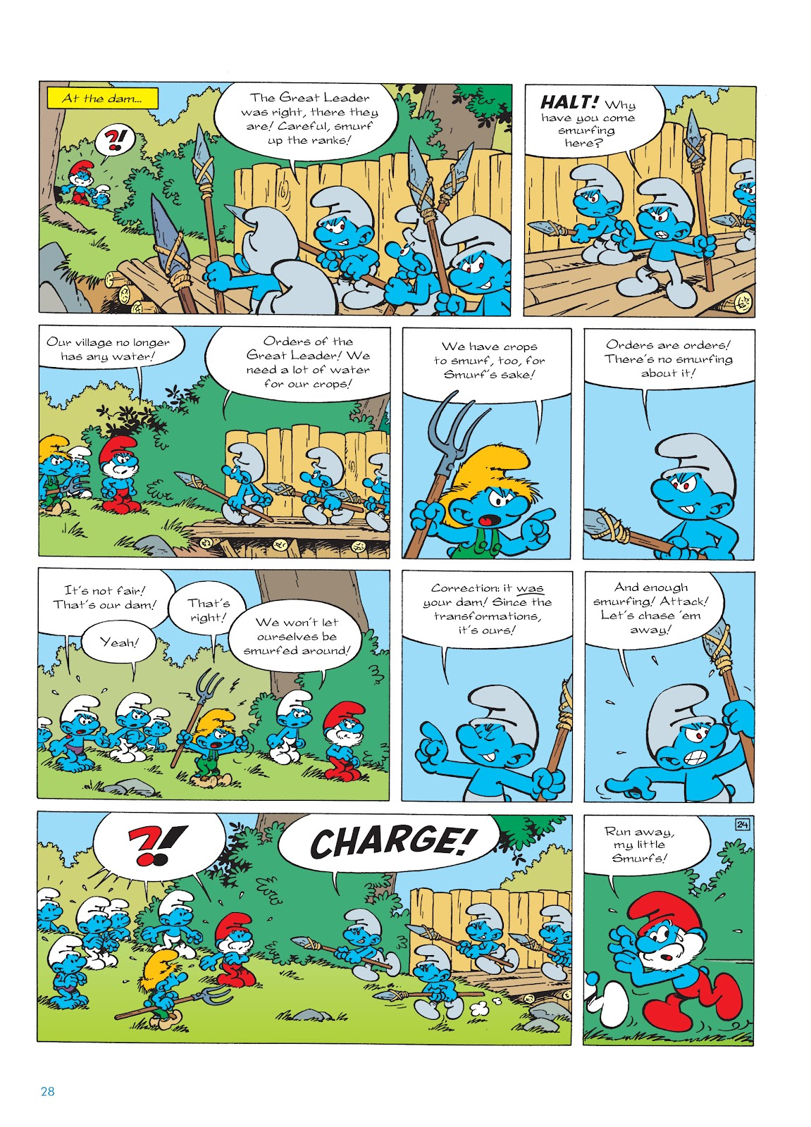 Read online The Smurfs comic -  Issue #22 - 29