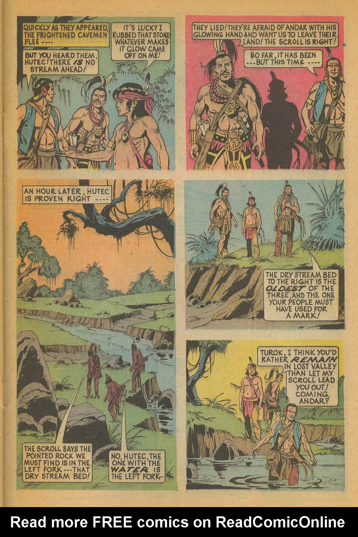Read online Turok, Son of Stone comic -  Issue #85 - 29