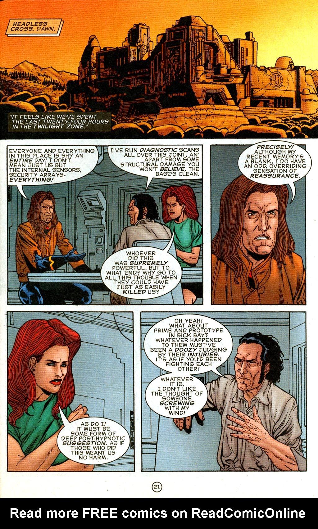 Read online UltraForce (1995) comic -  Issue #9 - 21