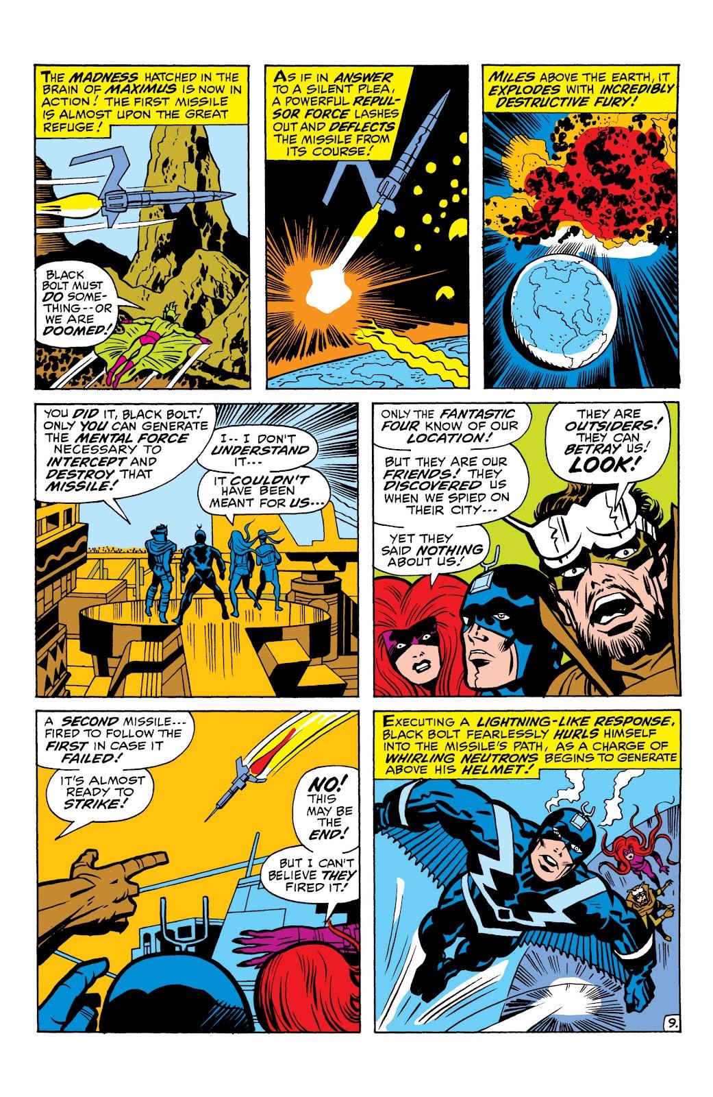 Read online Marvel Masterworks: The Inhumans comic -  Issue # TPB 1 (Part 1) - 78