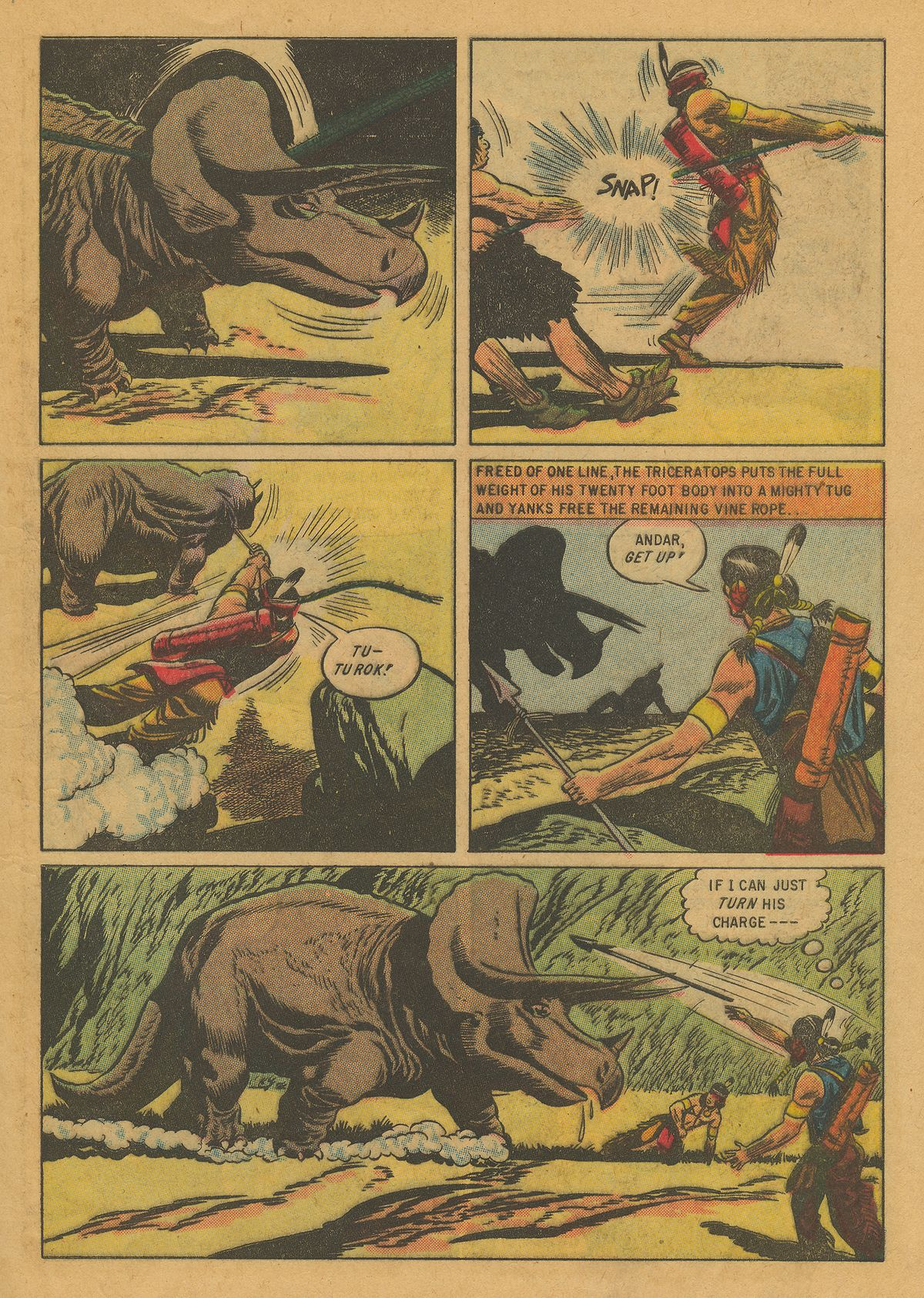 Read online Turok, Son of Stone comic -  Issue #10 - 9