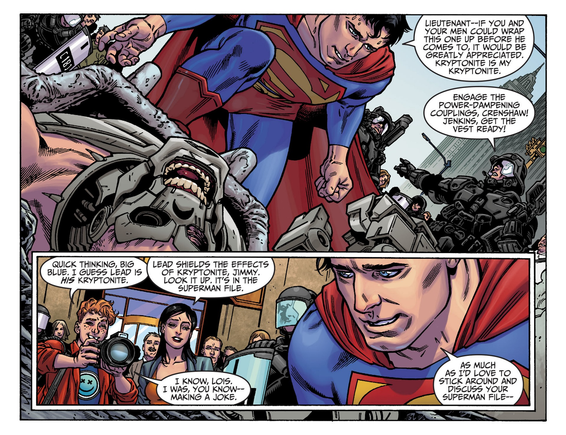 Read online Adventures of Superman [I] comic -  Issue #37 - 5