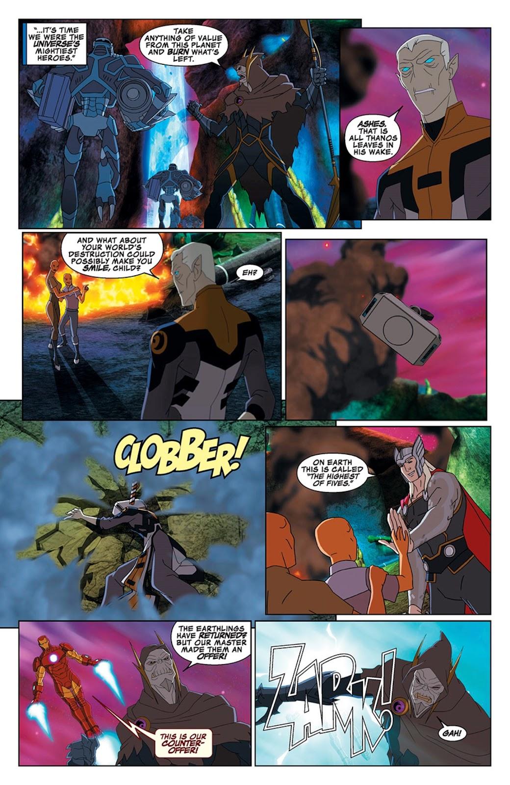 Read online Marvel Universe Avengers Assemble Season 2 comic -  Issue #15 - 22