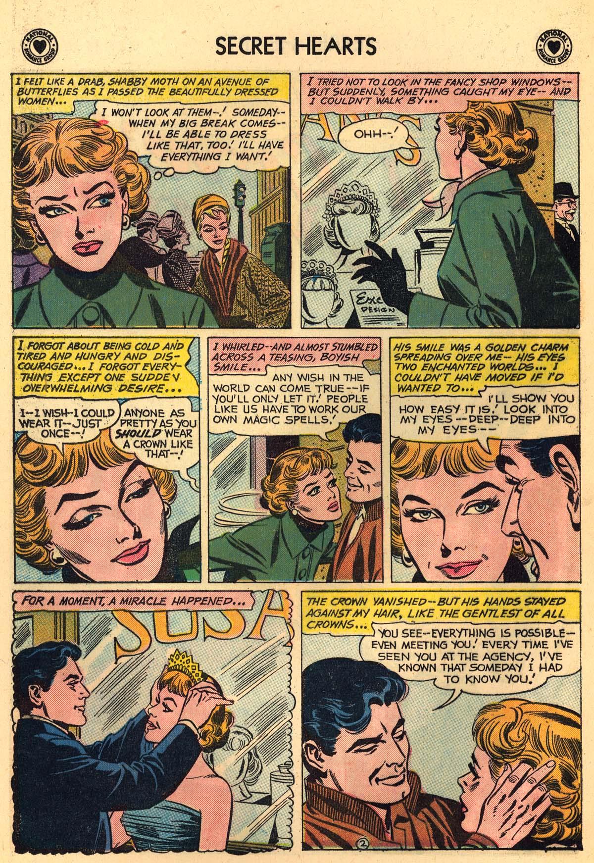 Read online Secret Hearts comic -  Issue #59 - 28