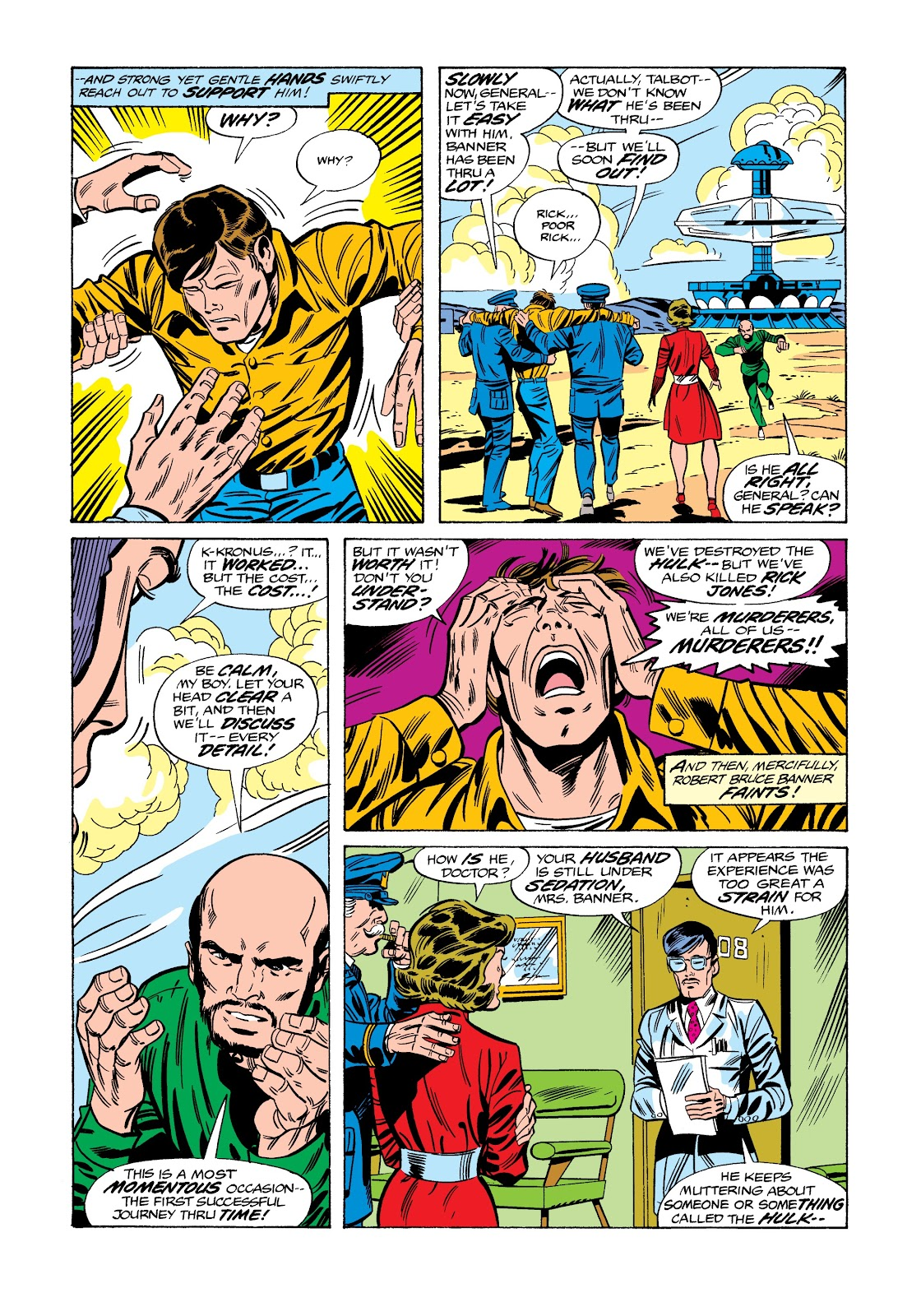 Read online Marvel Masterworks: The Incredible Hulk comic -  Issue # TPB 12 (Part 2) - 85