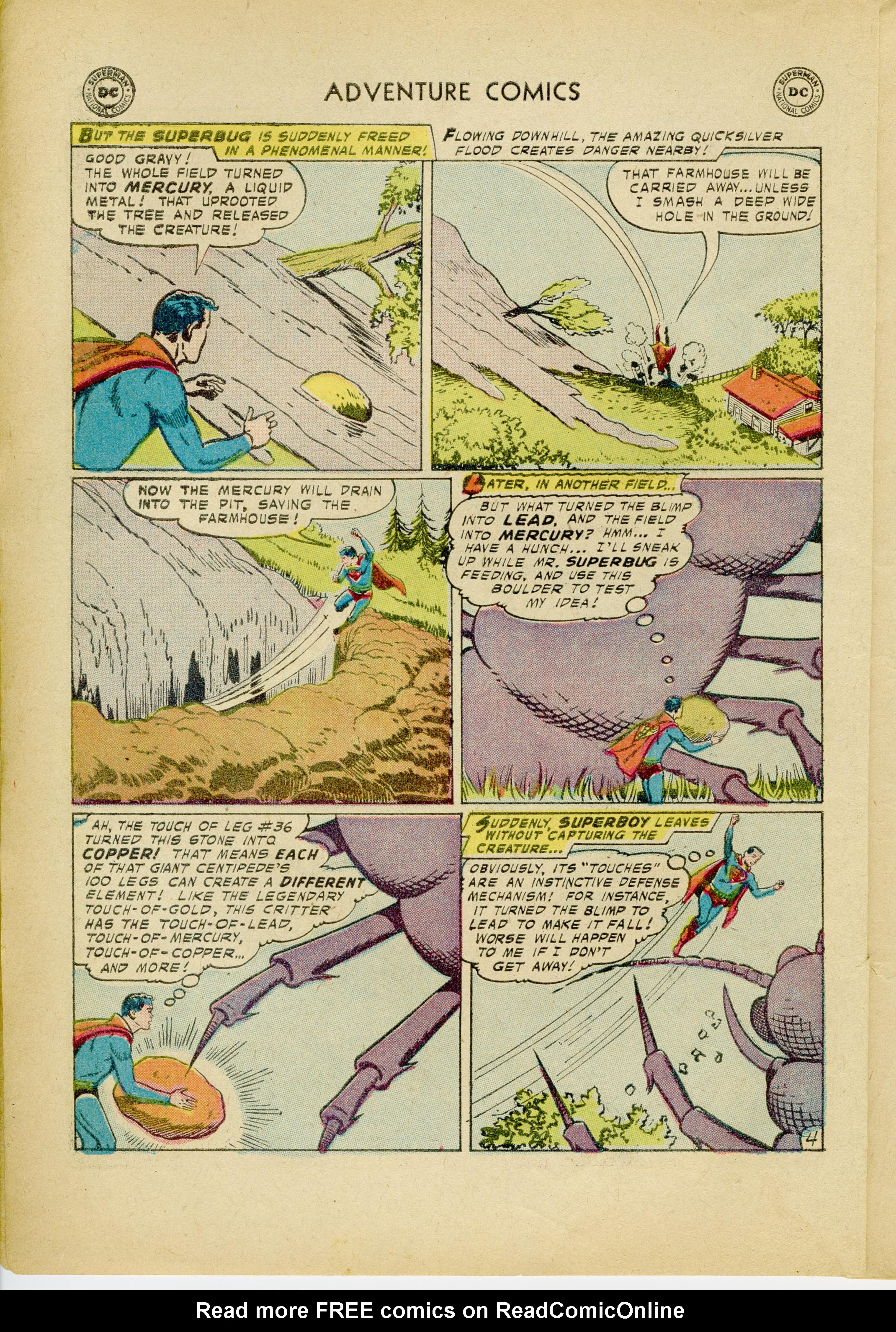 Read online Adventure Comics (1938) comic -  Issue #245 - 6
