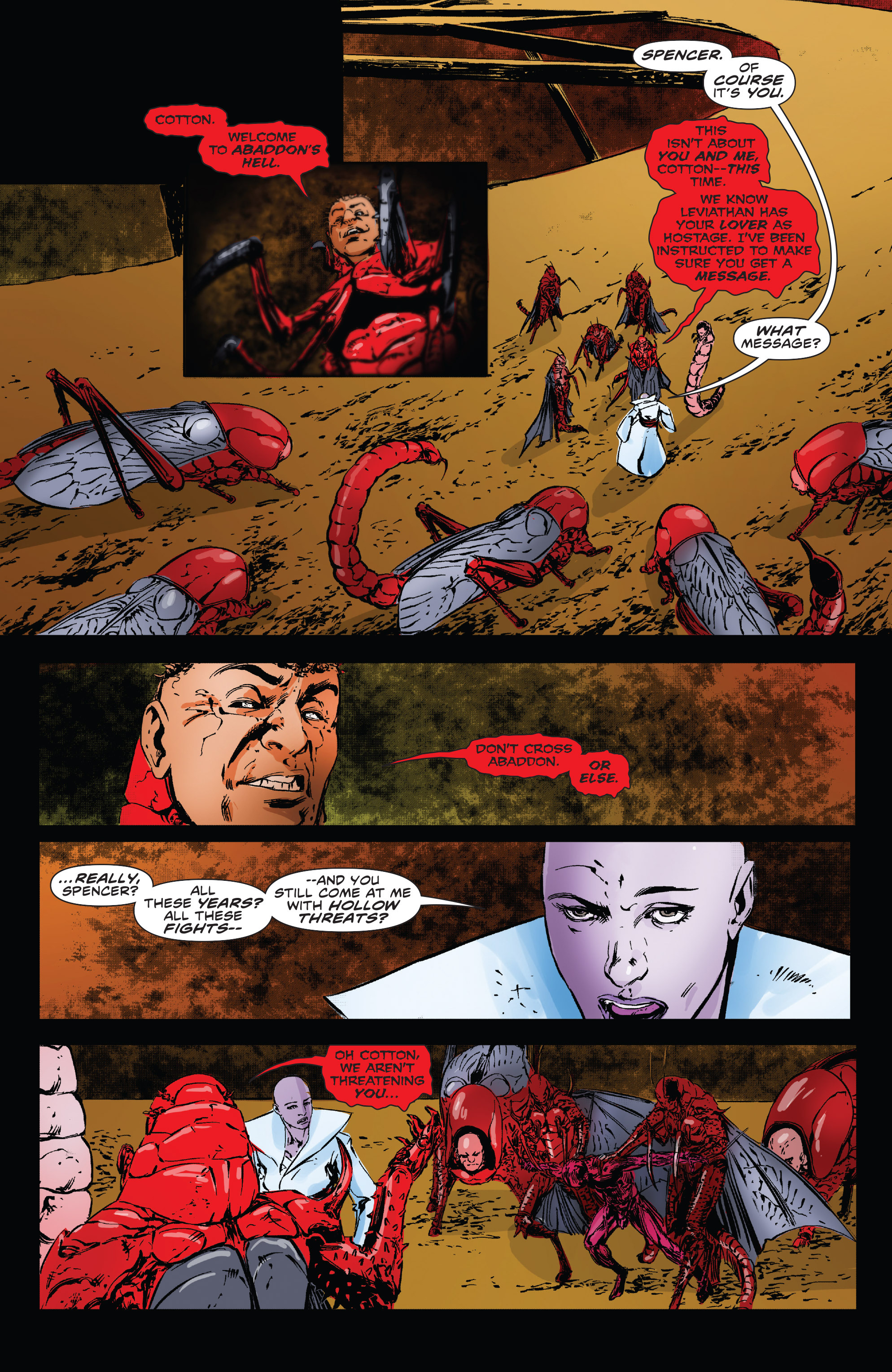Read online Clive Barker's Hellraiser: The Dark Watch comic -  Issue # TPB 3 - 97