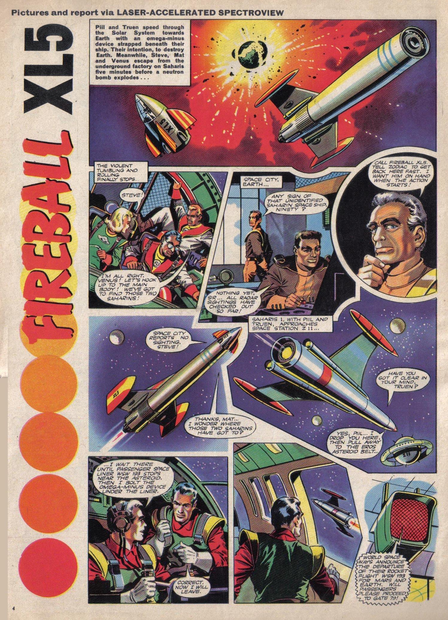 Read online TV Century 21 (TV 21) comic -  Issue #12 - 4