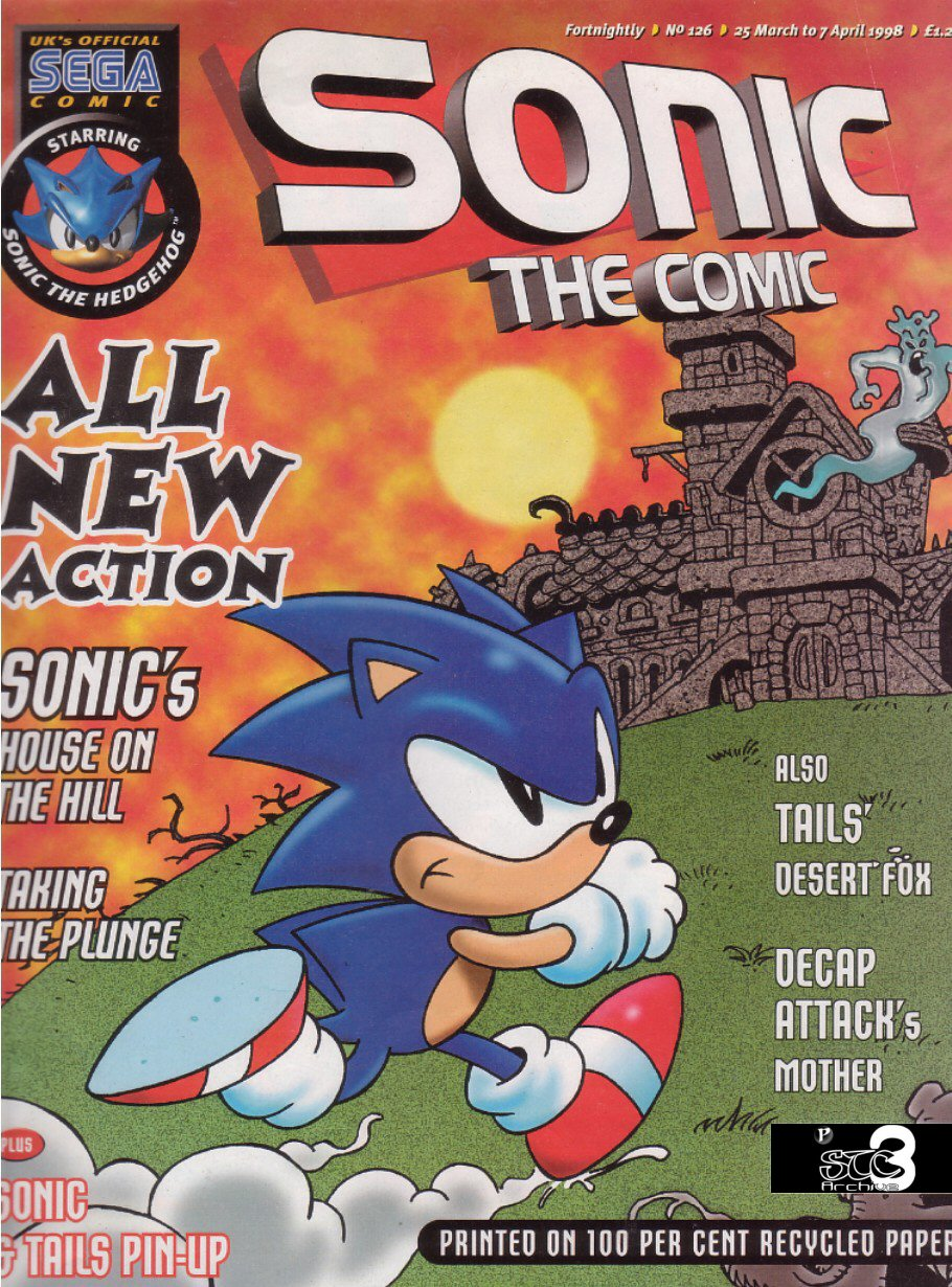 Read online Sonic the Comic comic -  Issue #126 - 1