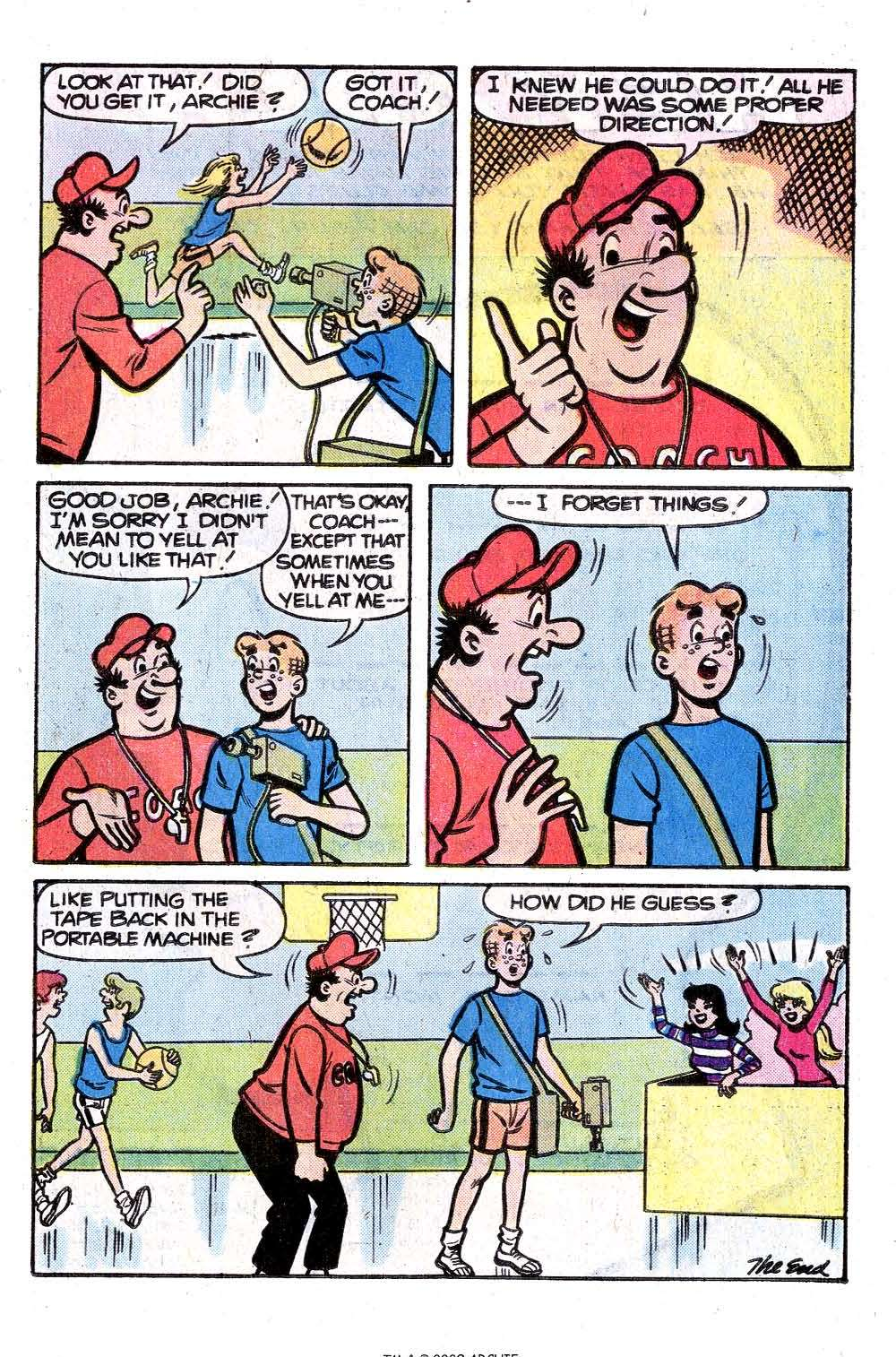 Read online Archie (1960) comic -  Issue #261 - 17