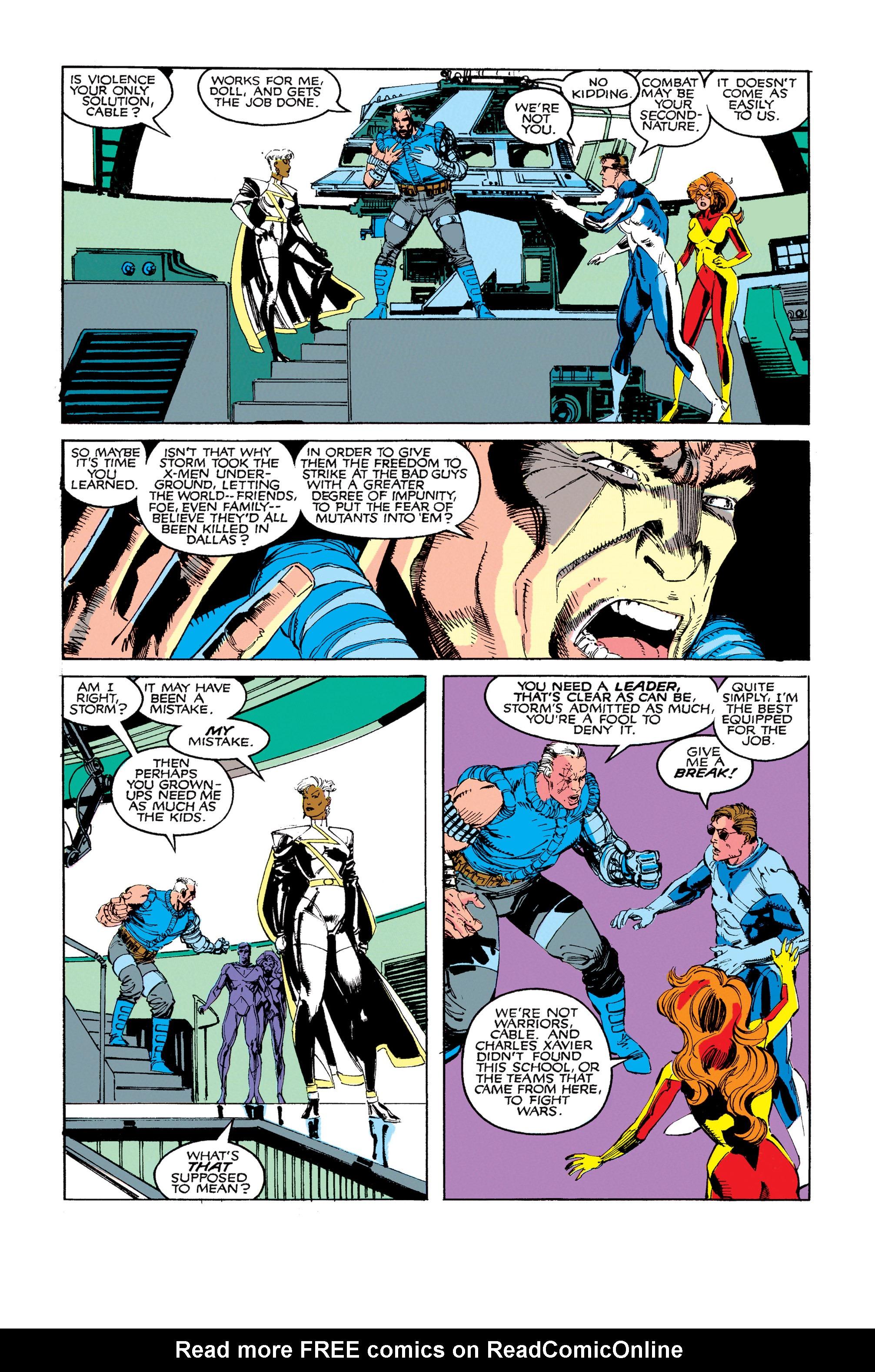 Read online Uncanny X-Men (1963) comic -  Issue #273 - 4