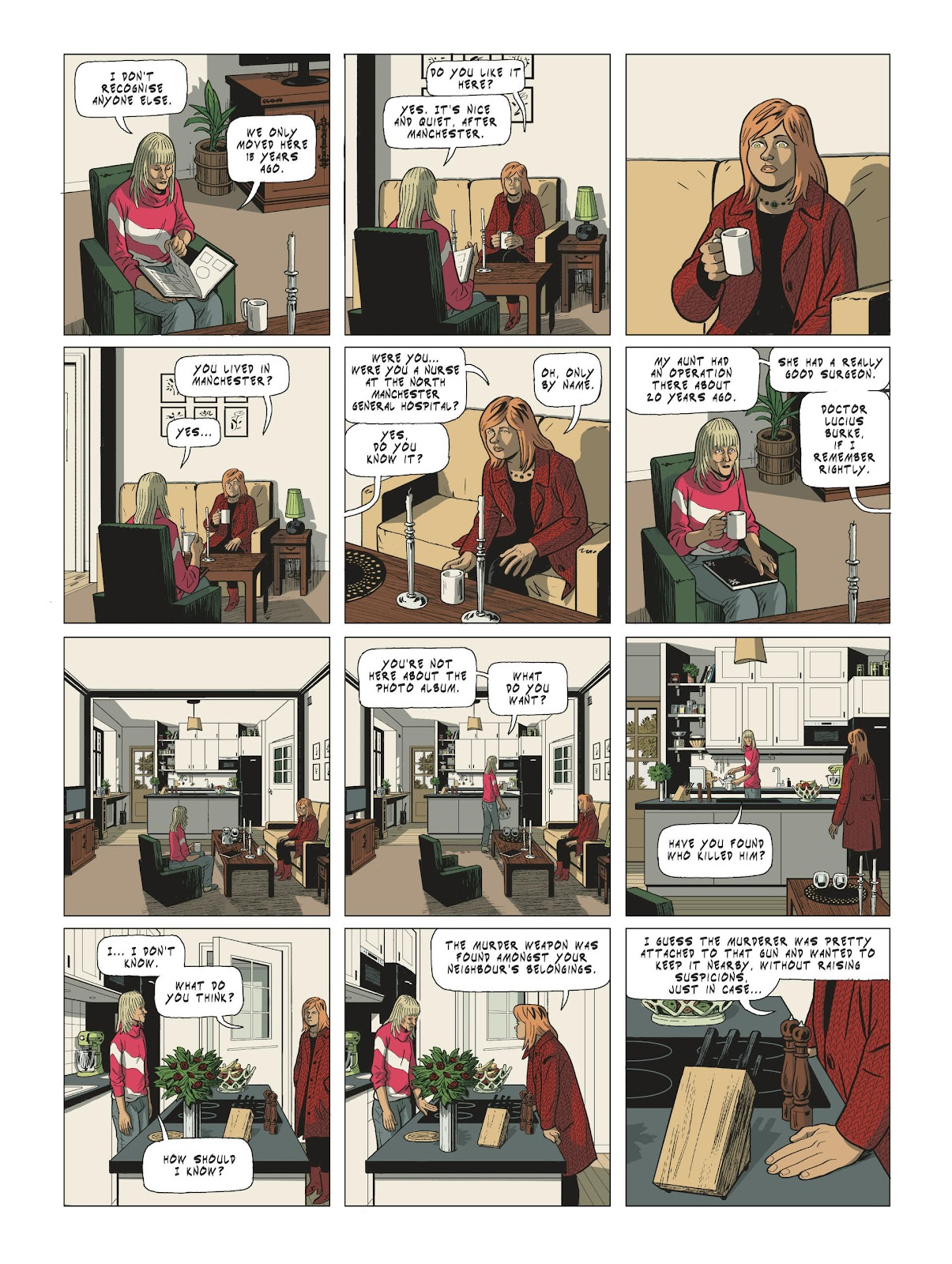 Read online Maggy Garrisson comic -  Issue #3 - 45