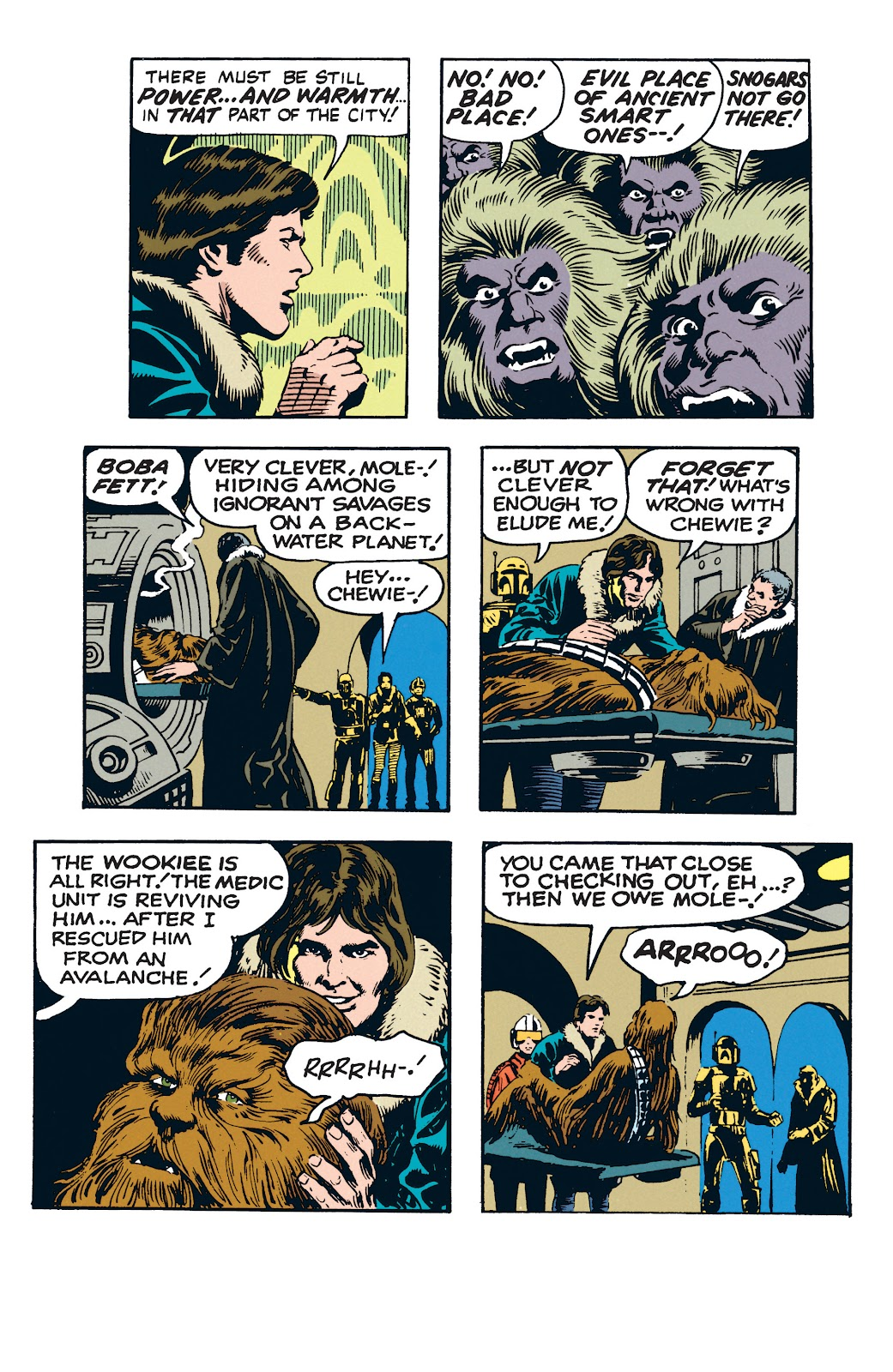 Read online Star Wars Legends: The Newspaper Strips - Epic Collection comic -  Issue # TPB (Part 3) - 74