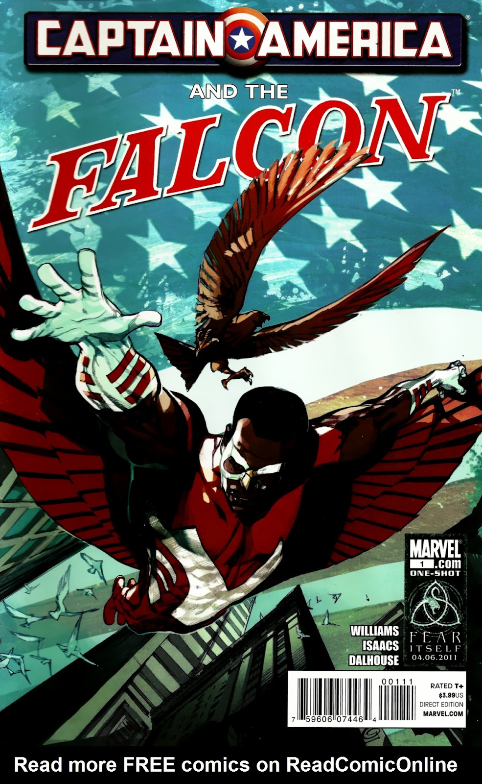 Captain America and Falcon Full Page 1