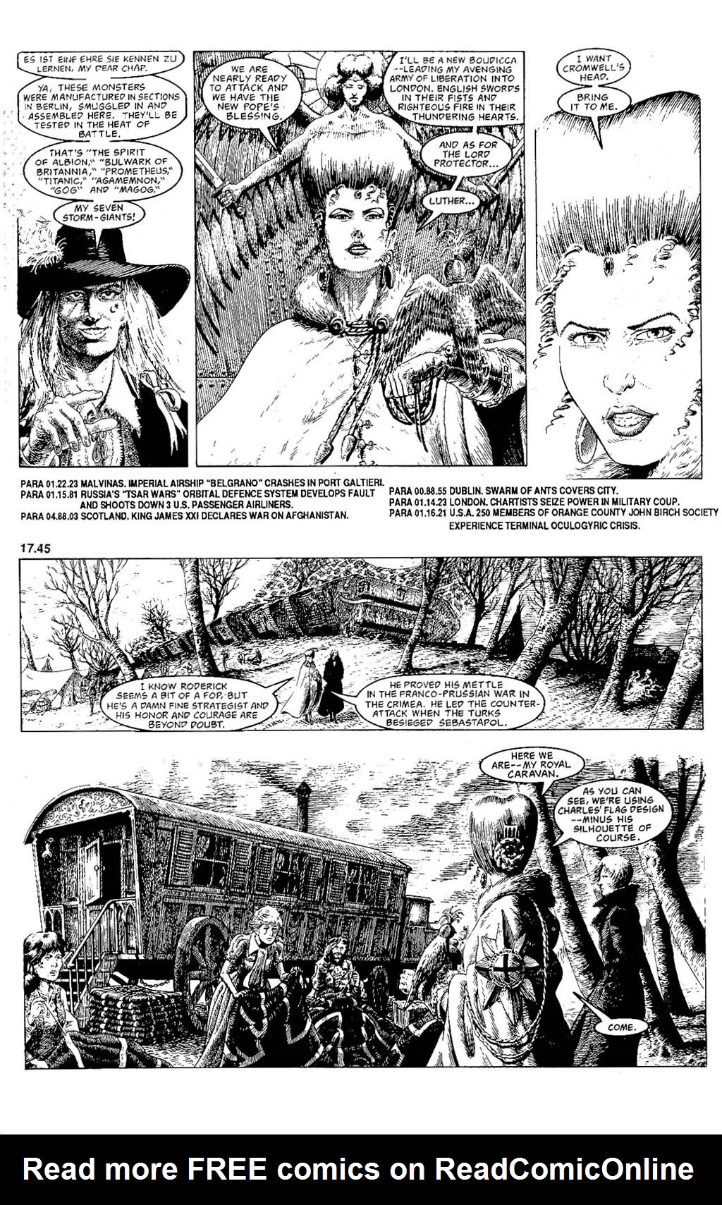 Read online The Adventures of Luther Arkwright comic -  Issue #7 - 5