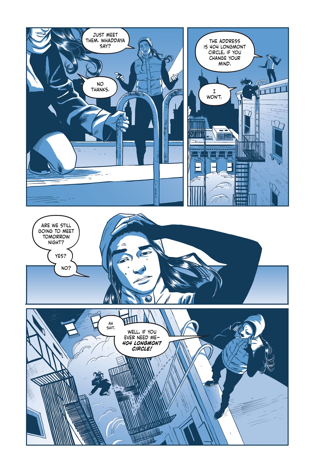 Read online Under the Moon: A Catwoman Tale comic -  Issue # TPB (Part 1) - 99