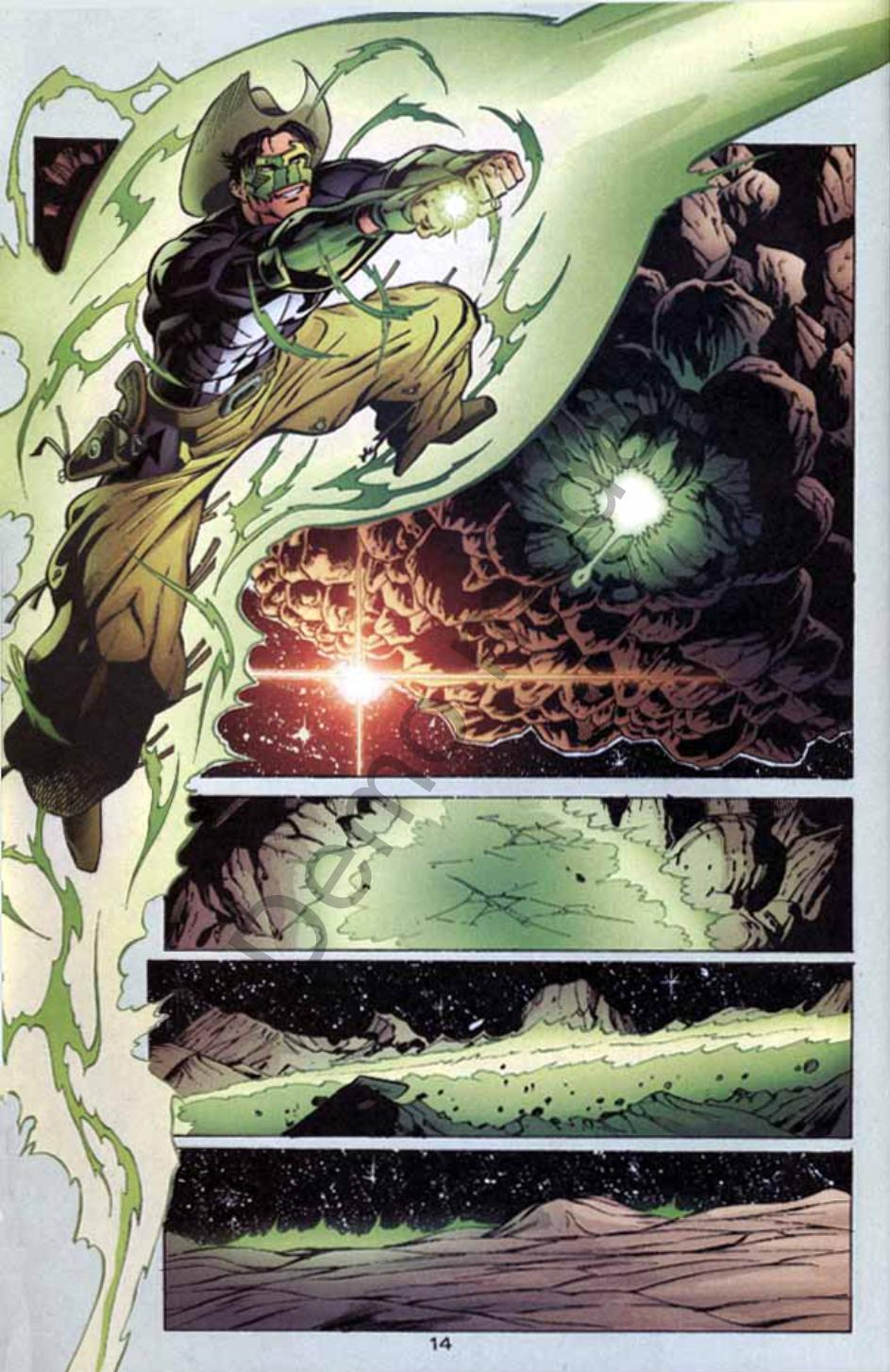 Read online Green Lantern: Our Worlds At War comic -  Issue # Full - 13