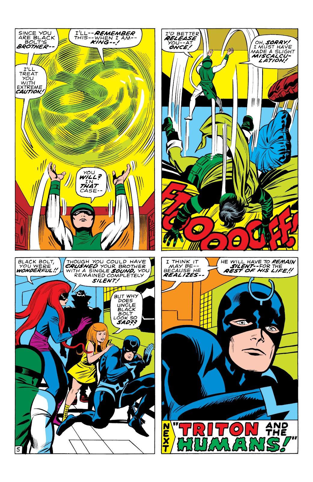 Read online Marvel Masterworks: The Inhumans comic -  Issue # TPB 1 (Part 1) - 27