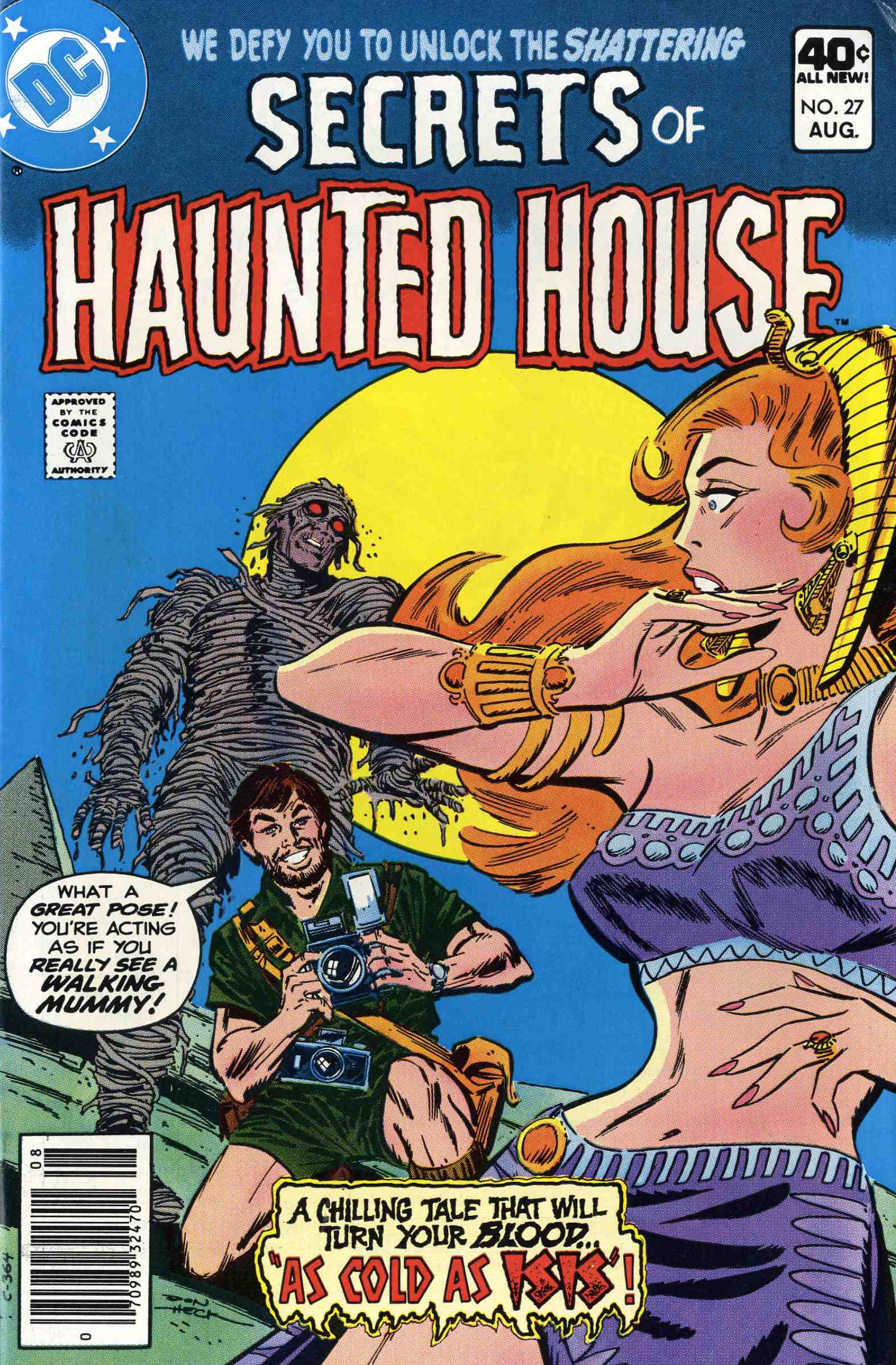 Read online Secrets of Haunted House comic -  Issue #27 - 1