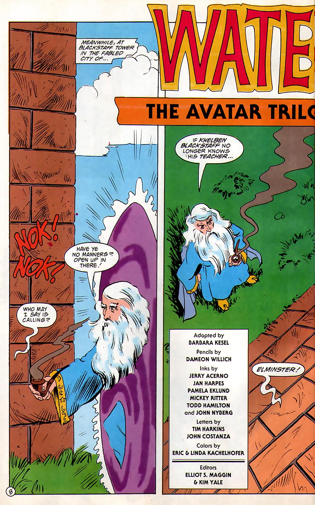 Read online Avatar comic -  Issue #3 - 10