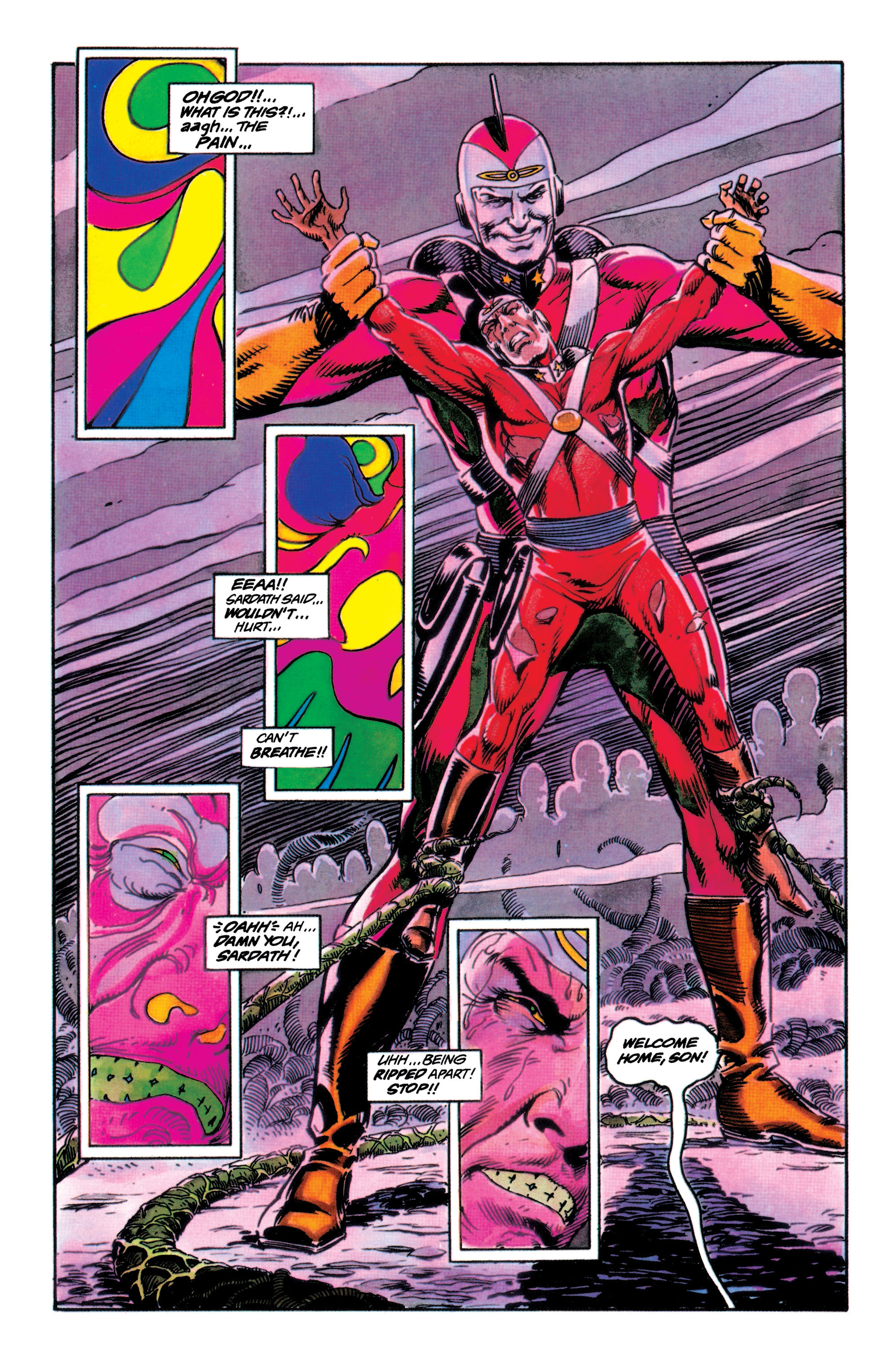 Read online Adam Strange (1990) comic -  Issue #1 - 37