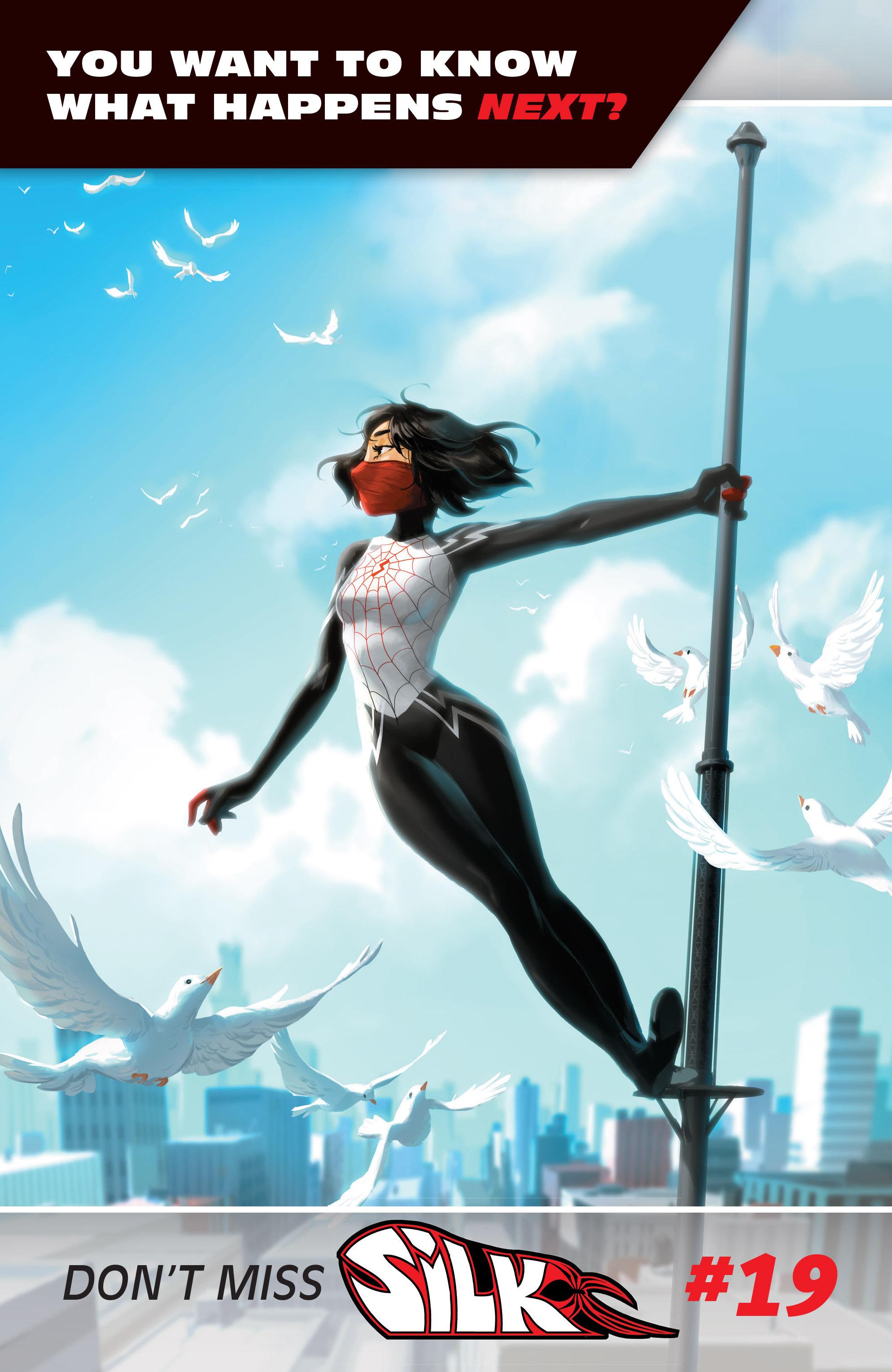 Read online Silk (2016) comic -  Issue #18 - 23