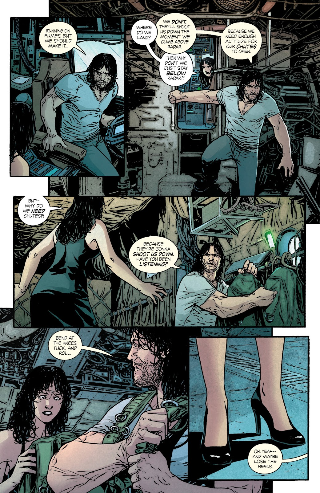 Read online Hardcore comic -  Issue #4 - 12