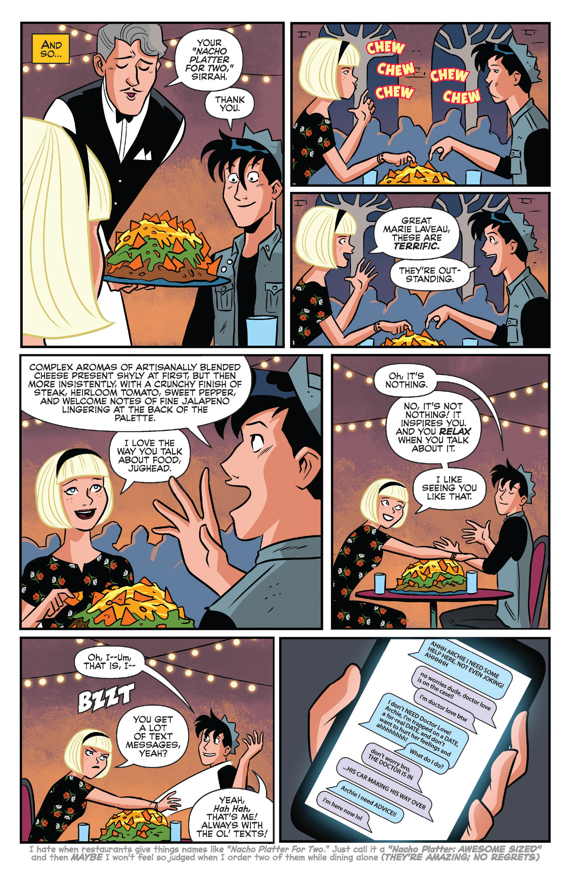Read online Archie (2015) comic -  Issue #14 - 28
