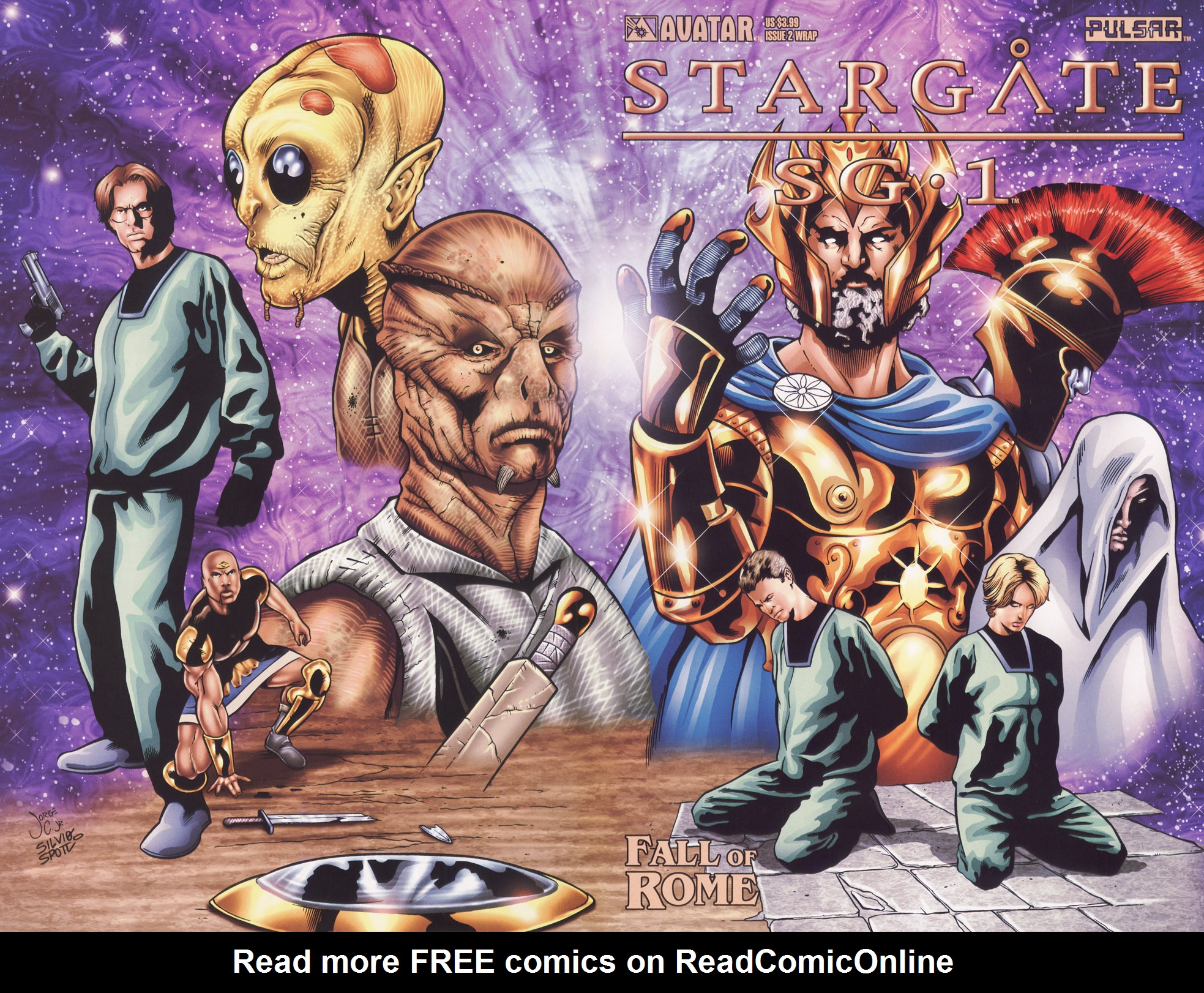 Read online Stargate SG-1: Fall of Rome comic -  Issue #2 - 1