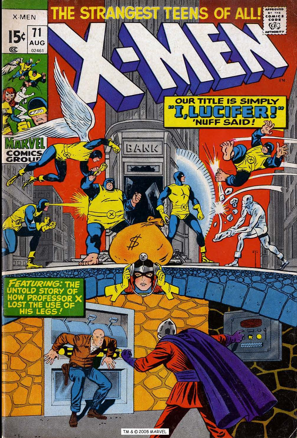 Read online Uncanny X-Men (1963) comic -  Issue #71 - 1