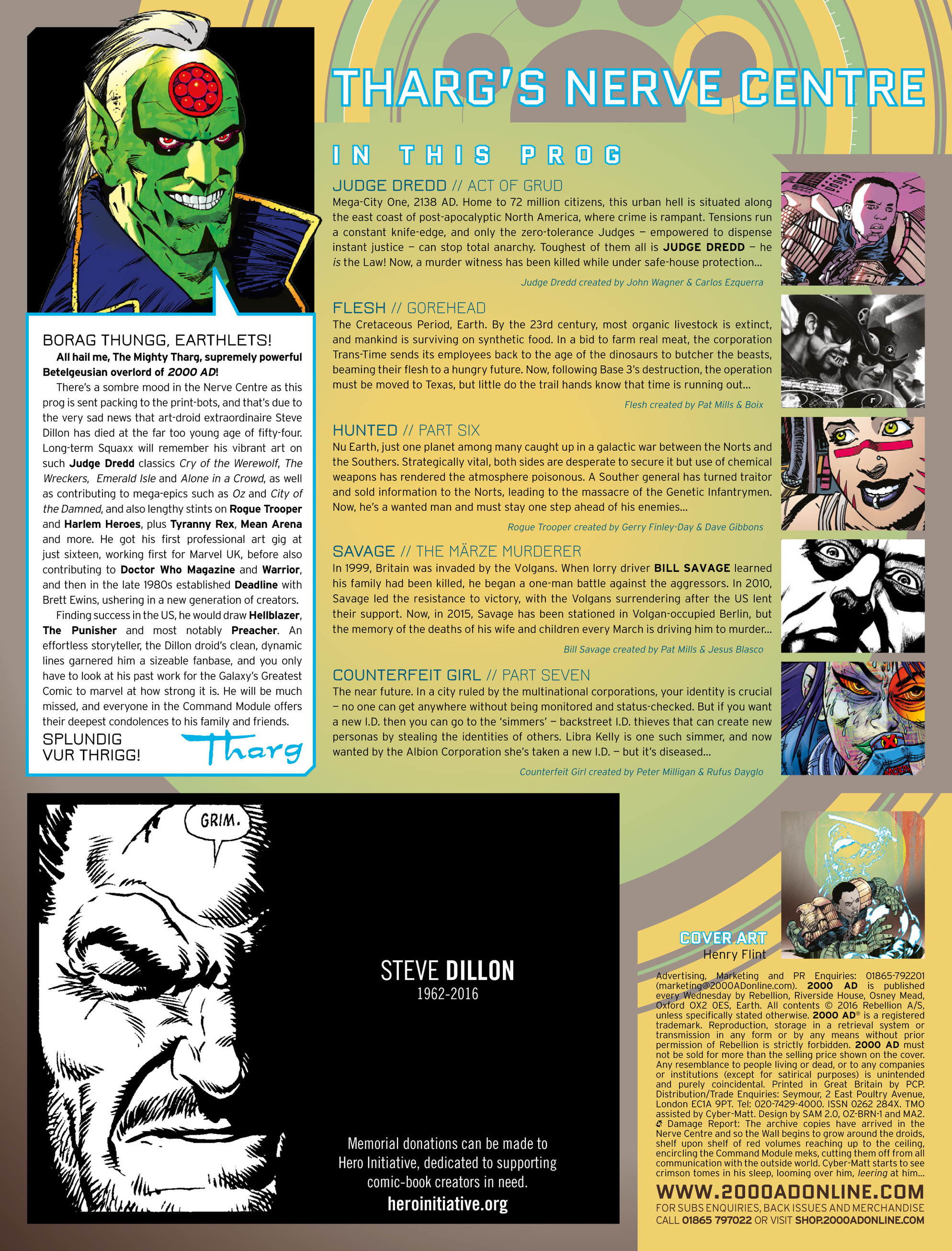 Read online 2000 AD comic -  Issue #2006 - 2