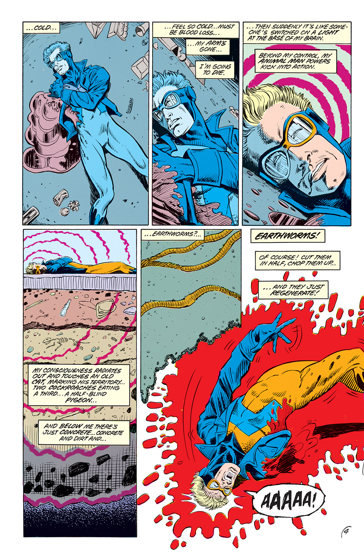 Read online Animal Man (1988) comic -  Issue #3 - 6