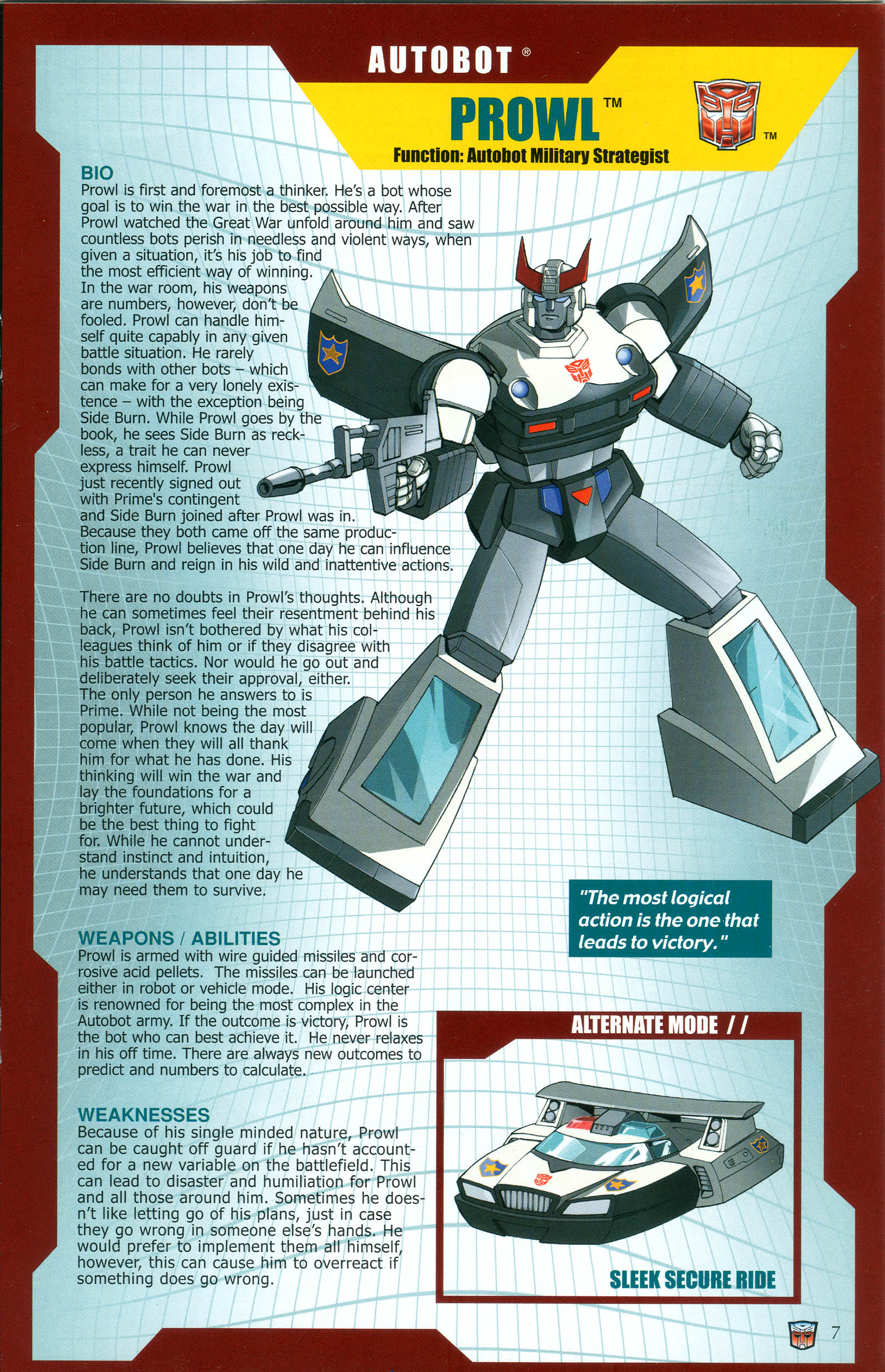 Read online Transformers: Collectors' Club comic -  Issue #39 - 7